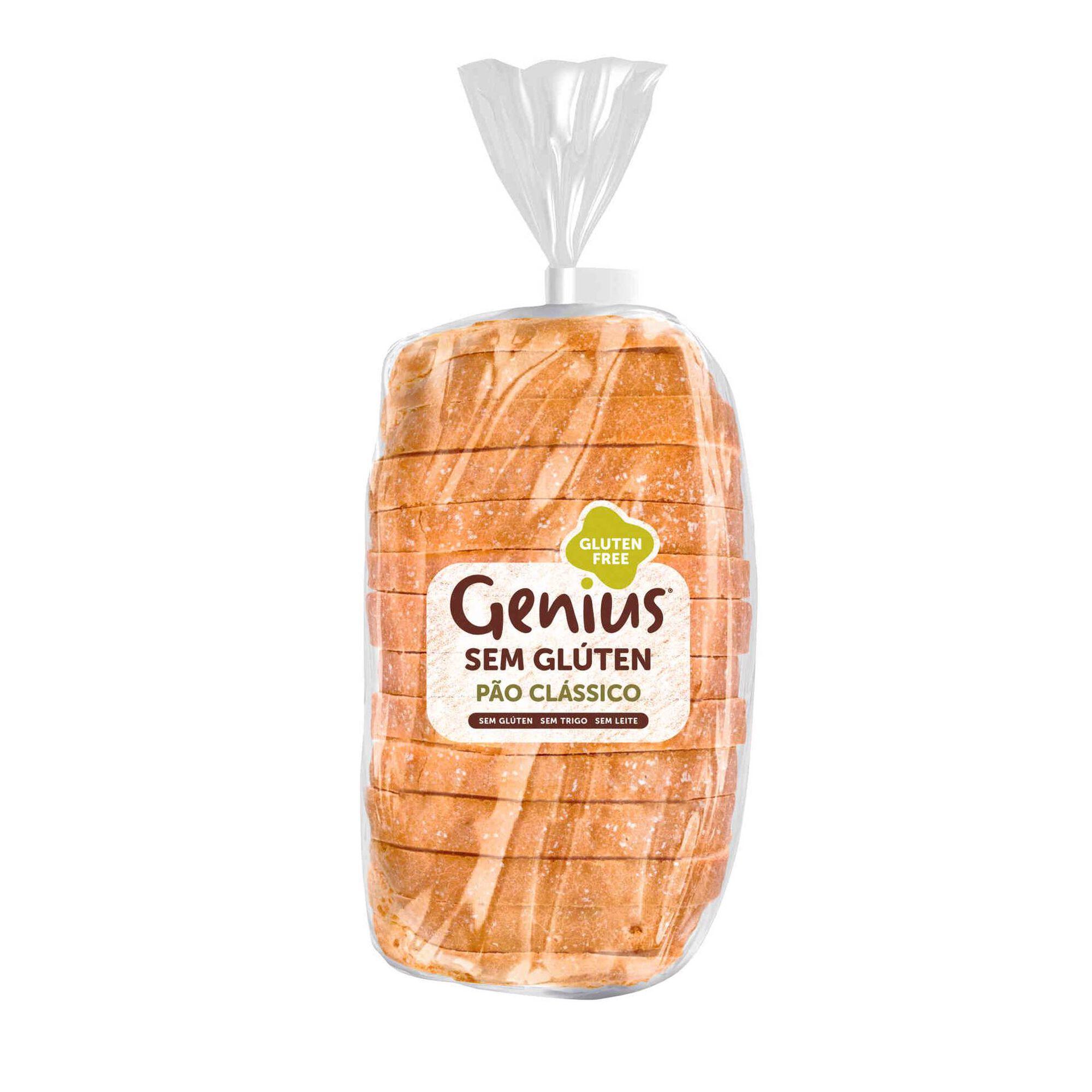 Pão Clássico sem Glúten