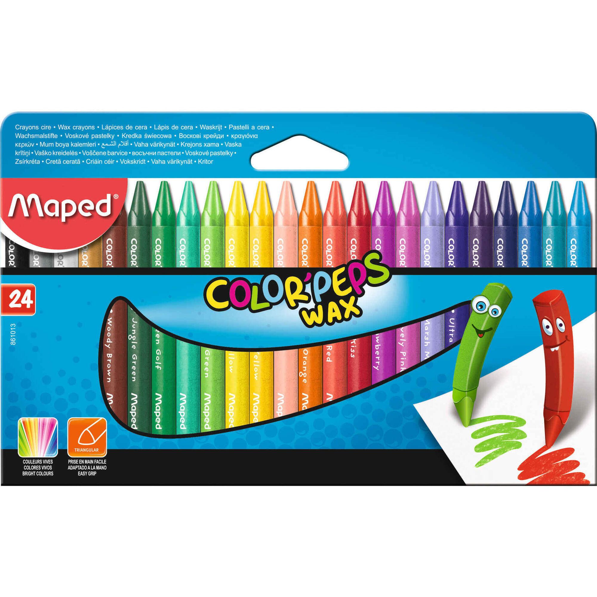 Lápis de Cera Color'Peps