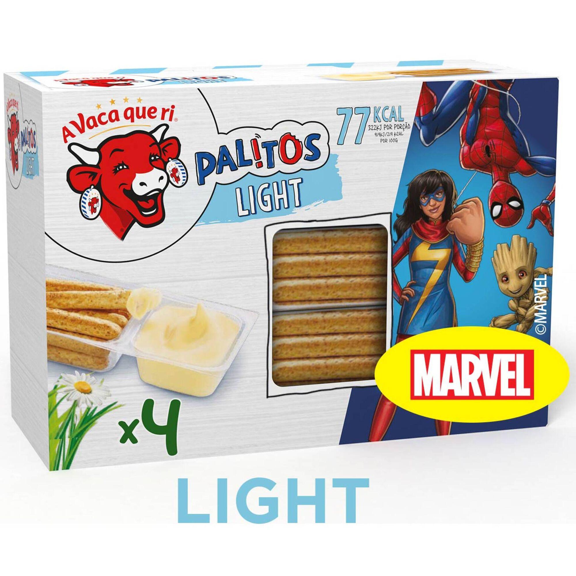 Queijo Fundido Light Palitos