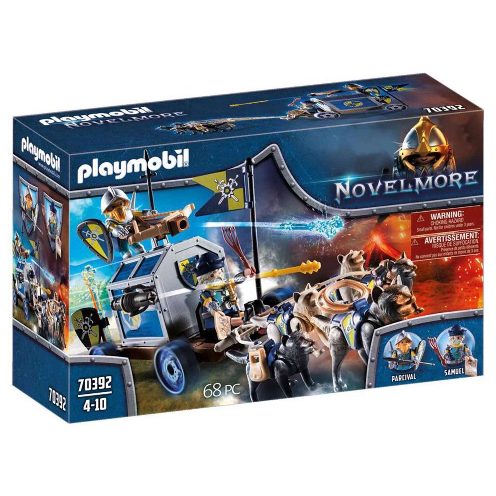 Transporte do Tesouro de Novelmore - 70392