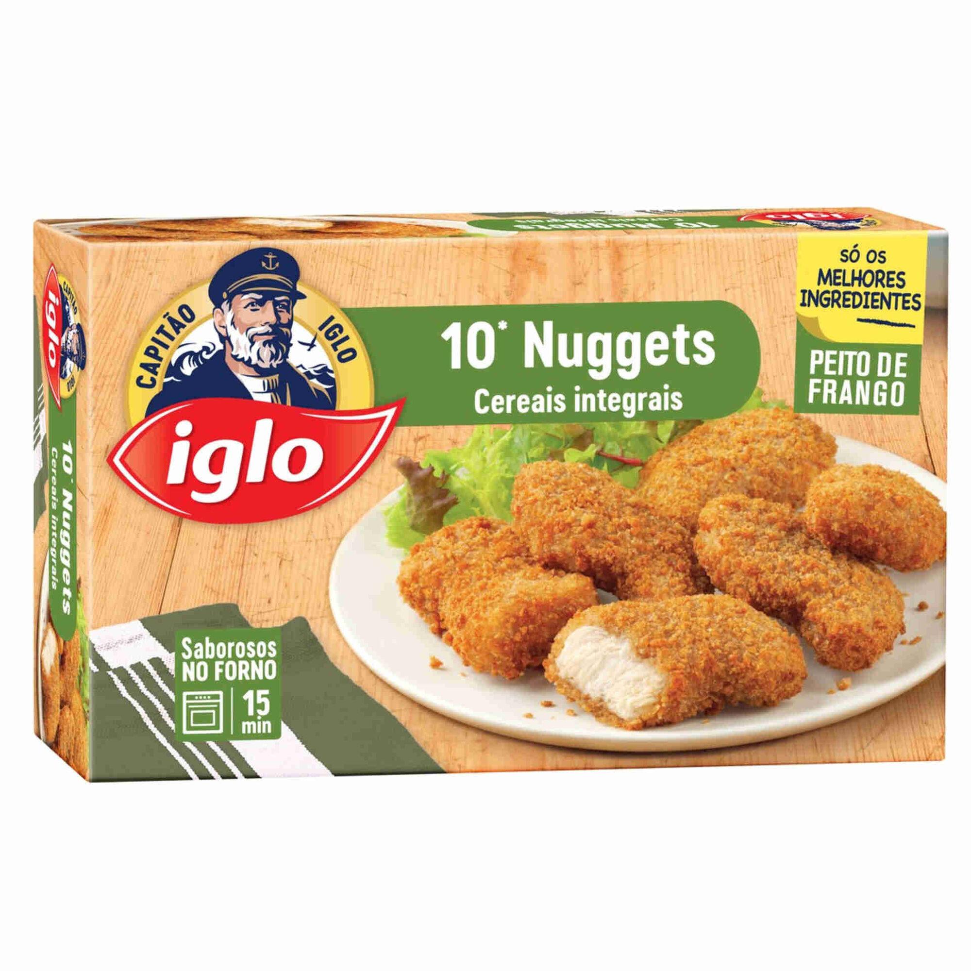 Nuggets de Frango com Cereais Integrais