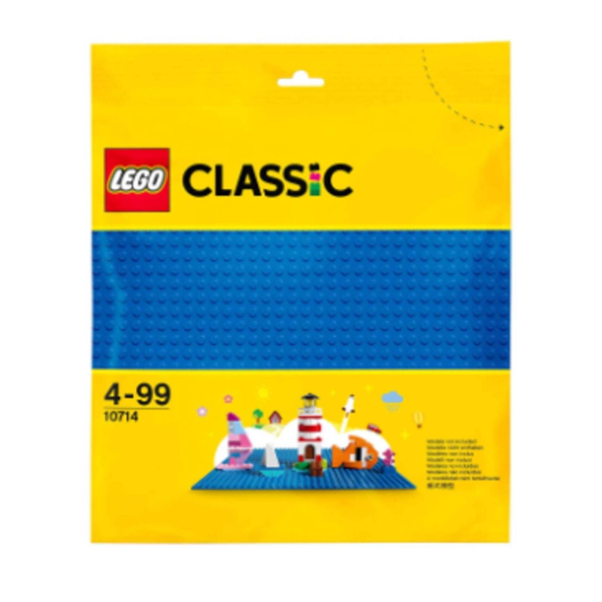Placa de Construção Azul - 10714