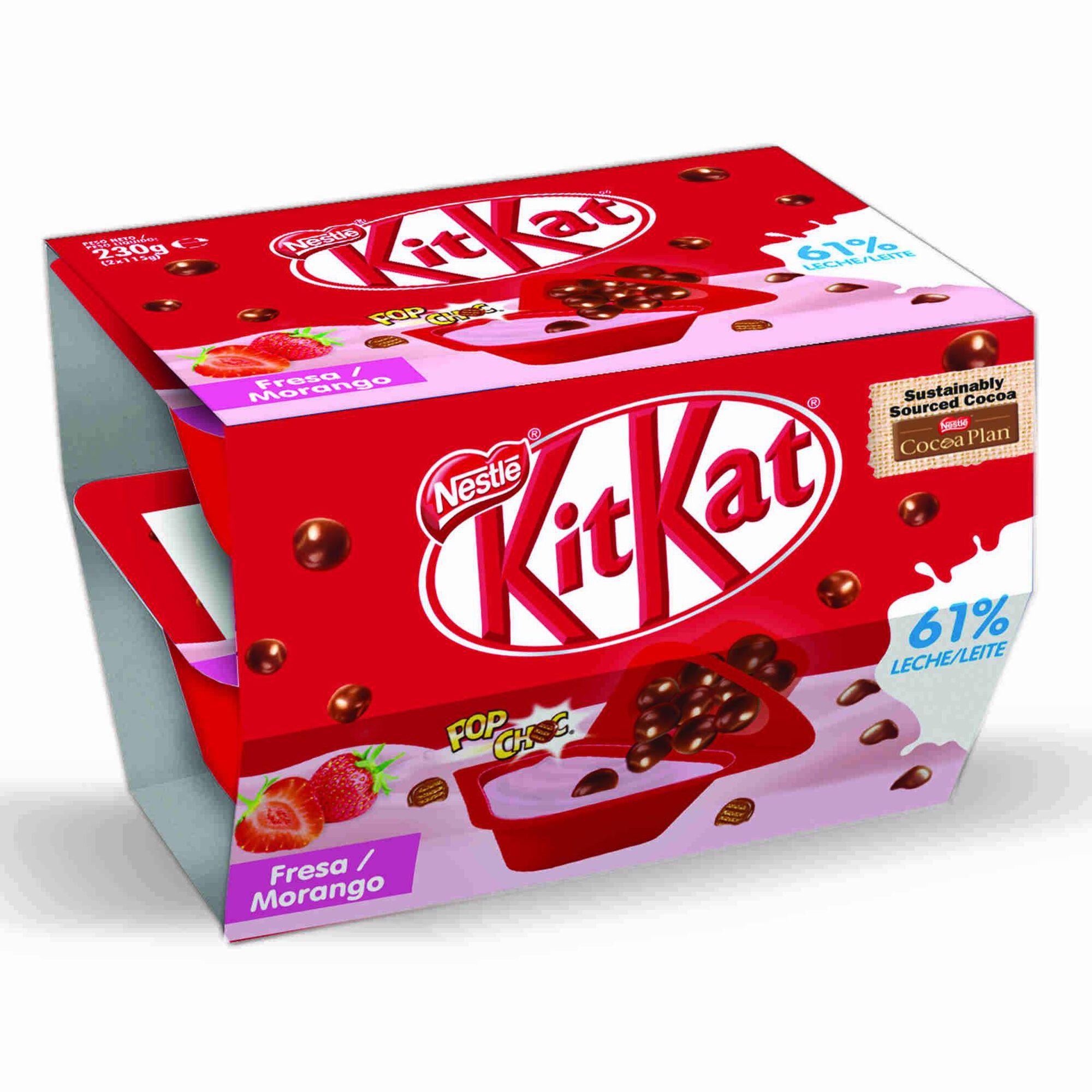 Iogurte Mix-In Morango Kit Kat