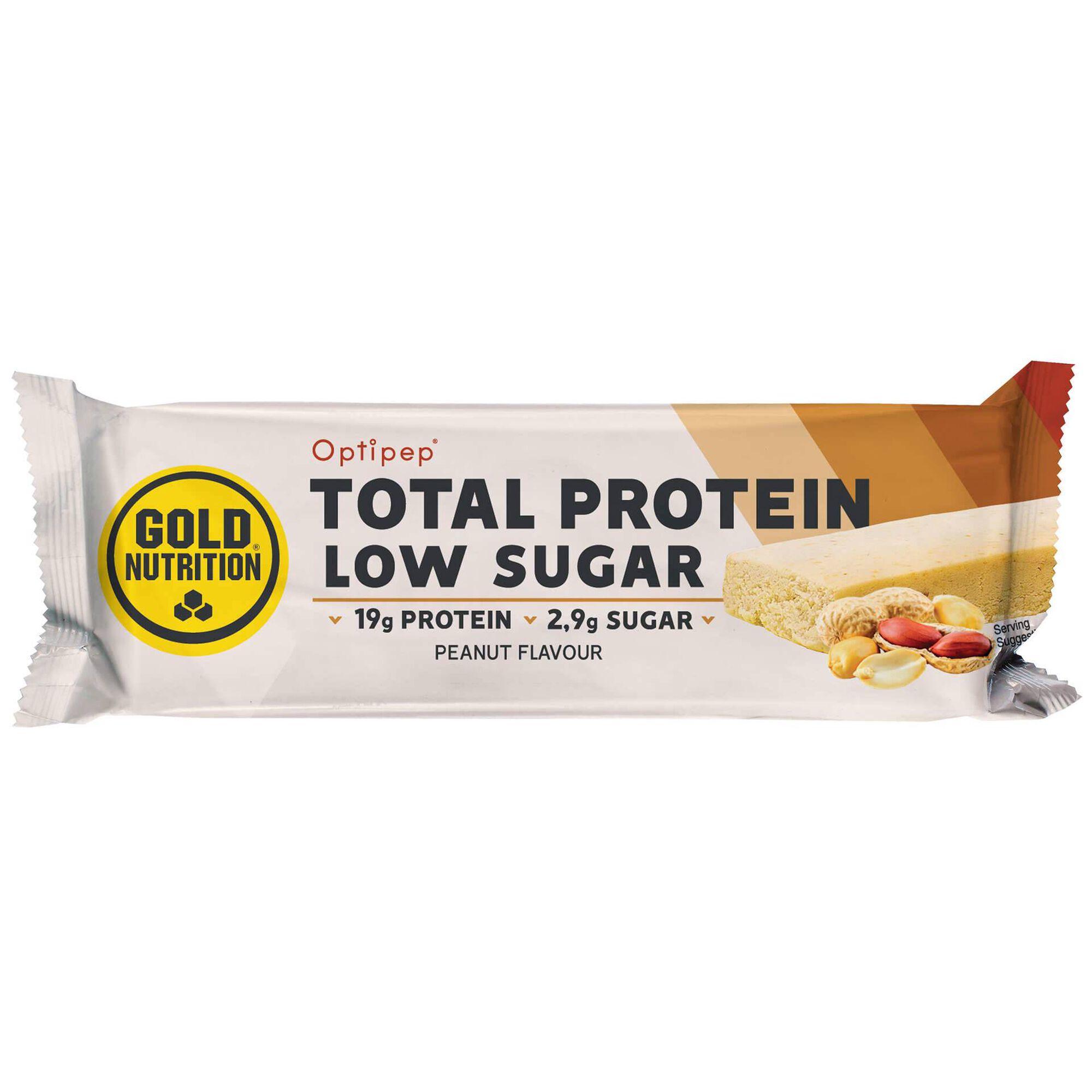 Barra Proteína Low Sugar Crunchy Peanut