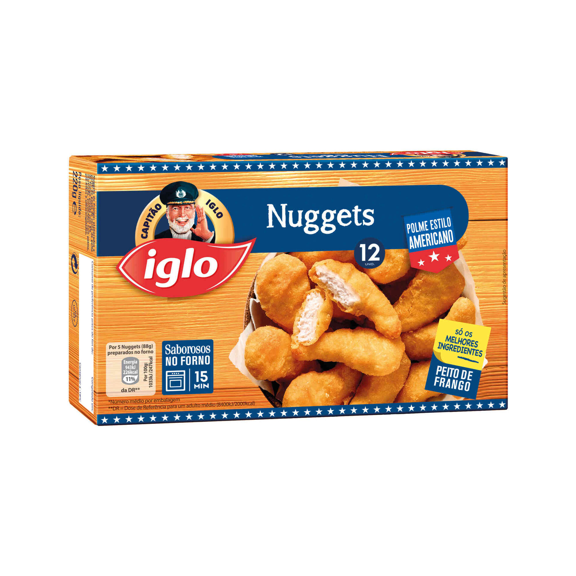 Nuggets de Frango Polme Americano