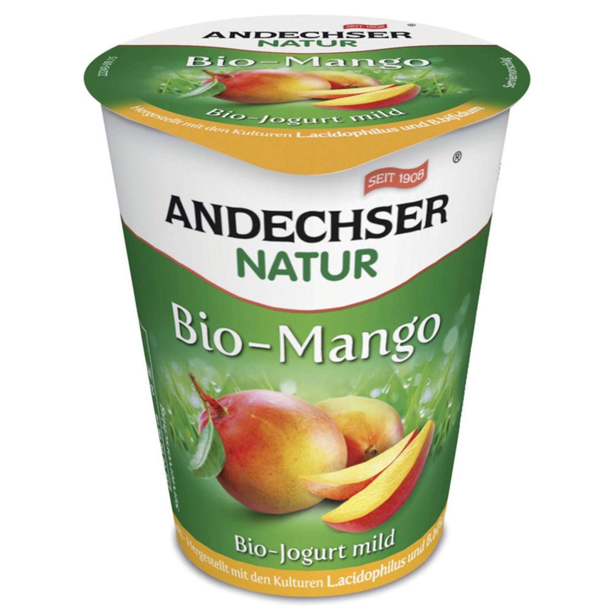 Iogurte Fruta Manga Biológico