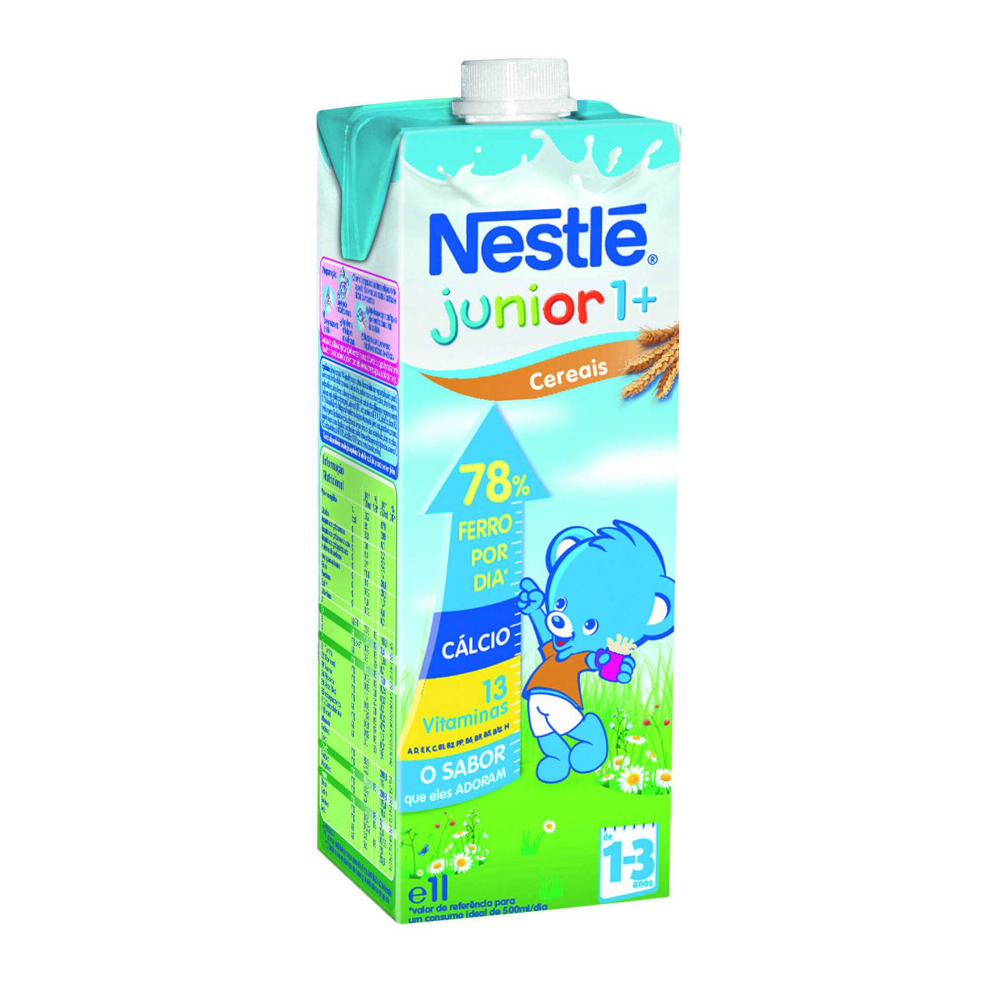 Bebida Láctea com Sabor a Cereais Junior 1 a 3 Anos