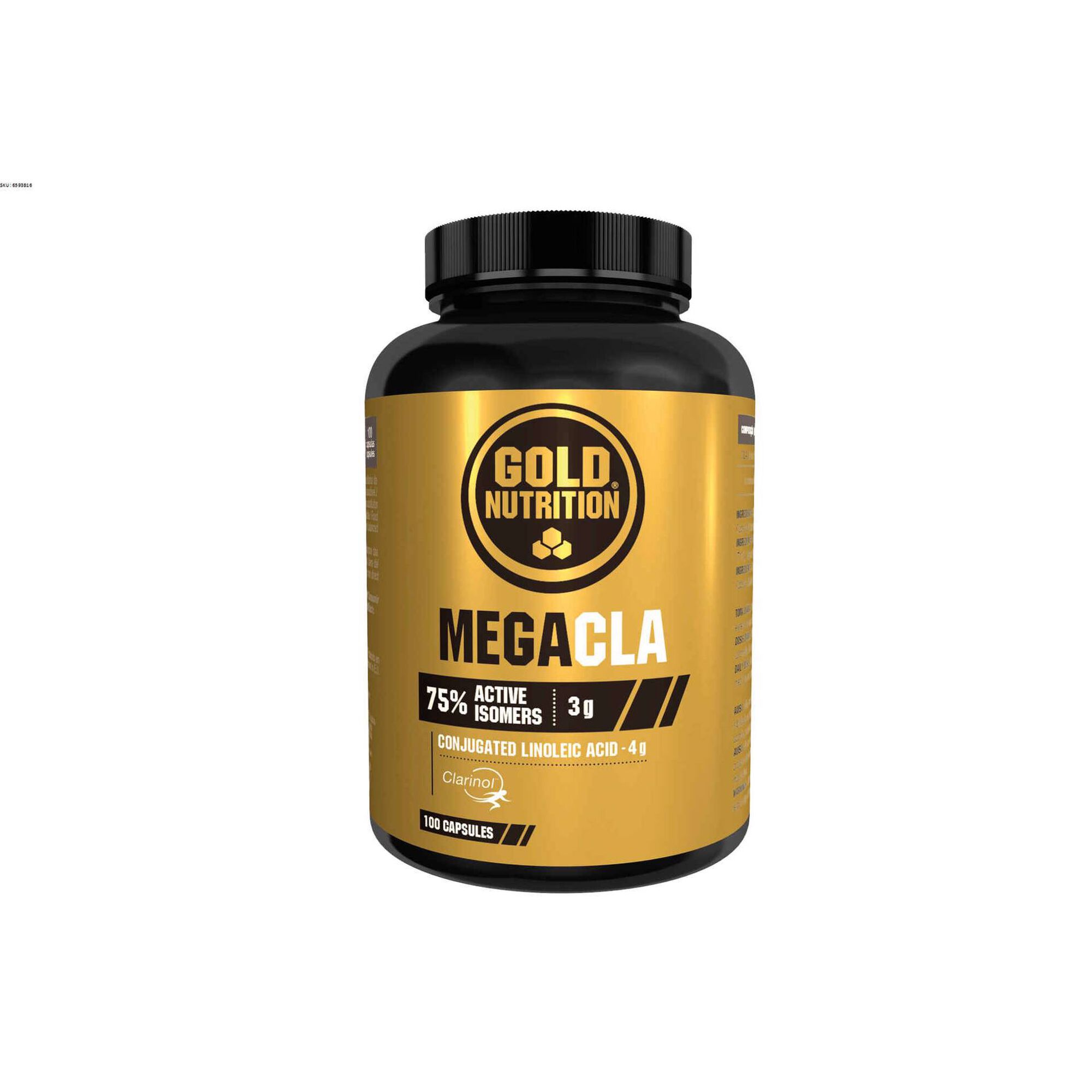 Suplemento Mega CLA 1000 mg Cápsulas
