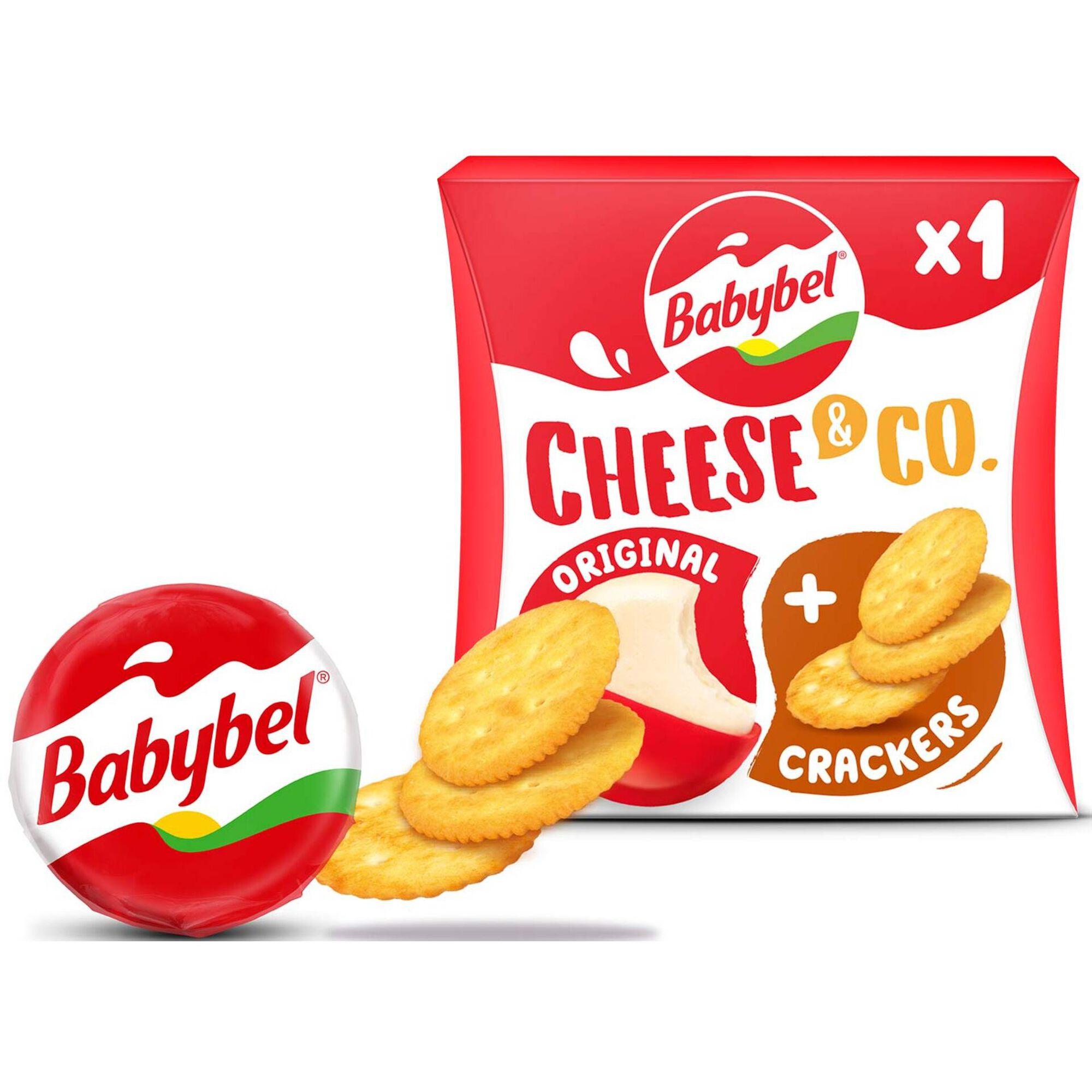 Queijo Mini e Crackers
