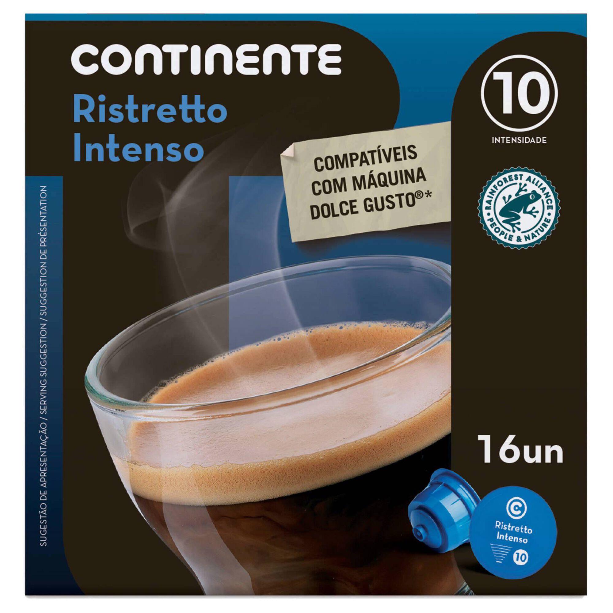 Cápsulas de Café Ristretto Compatível com Dolce Gusto Int 10