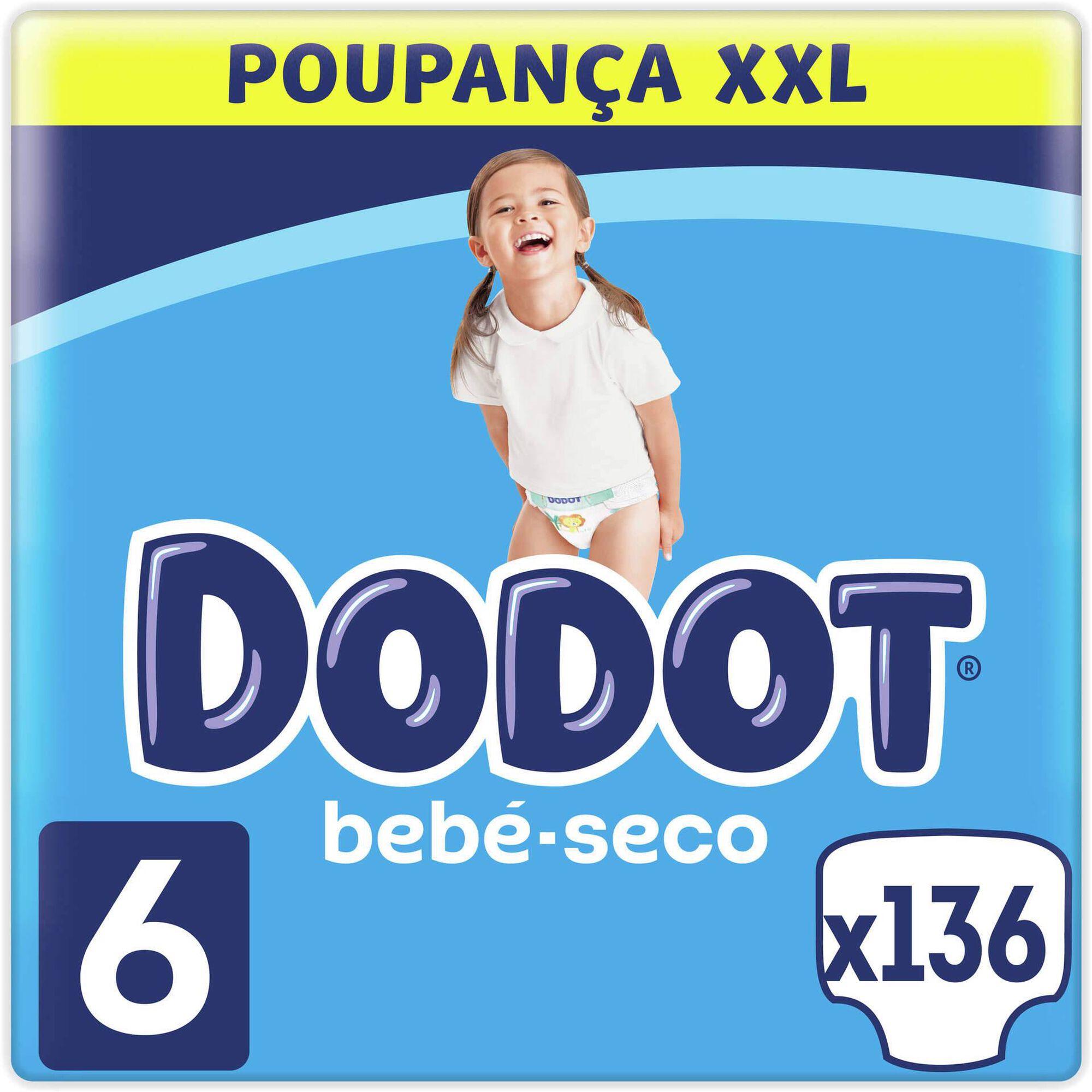Box Fraldas Bebé Seco XXL +13kg T6, , hi-res