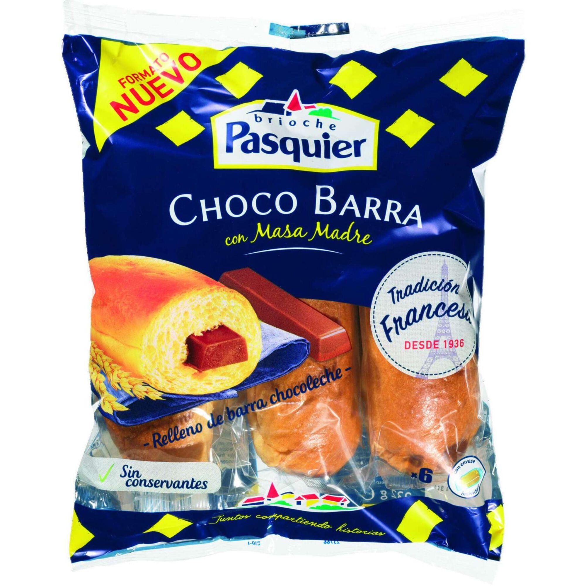 Pão de Leite Brioche com Chocolate