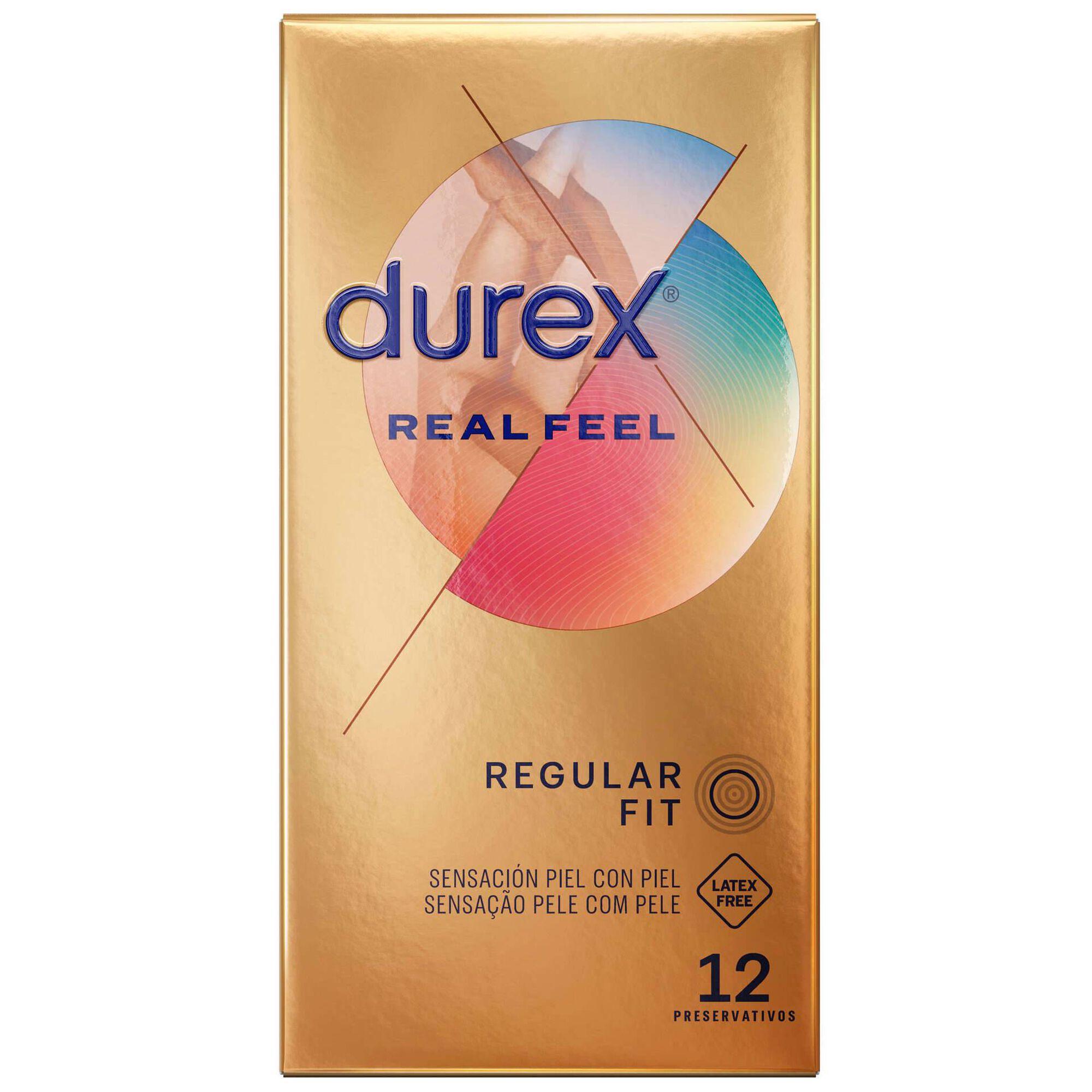 Preservativos Real Feel sem Látex