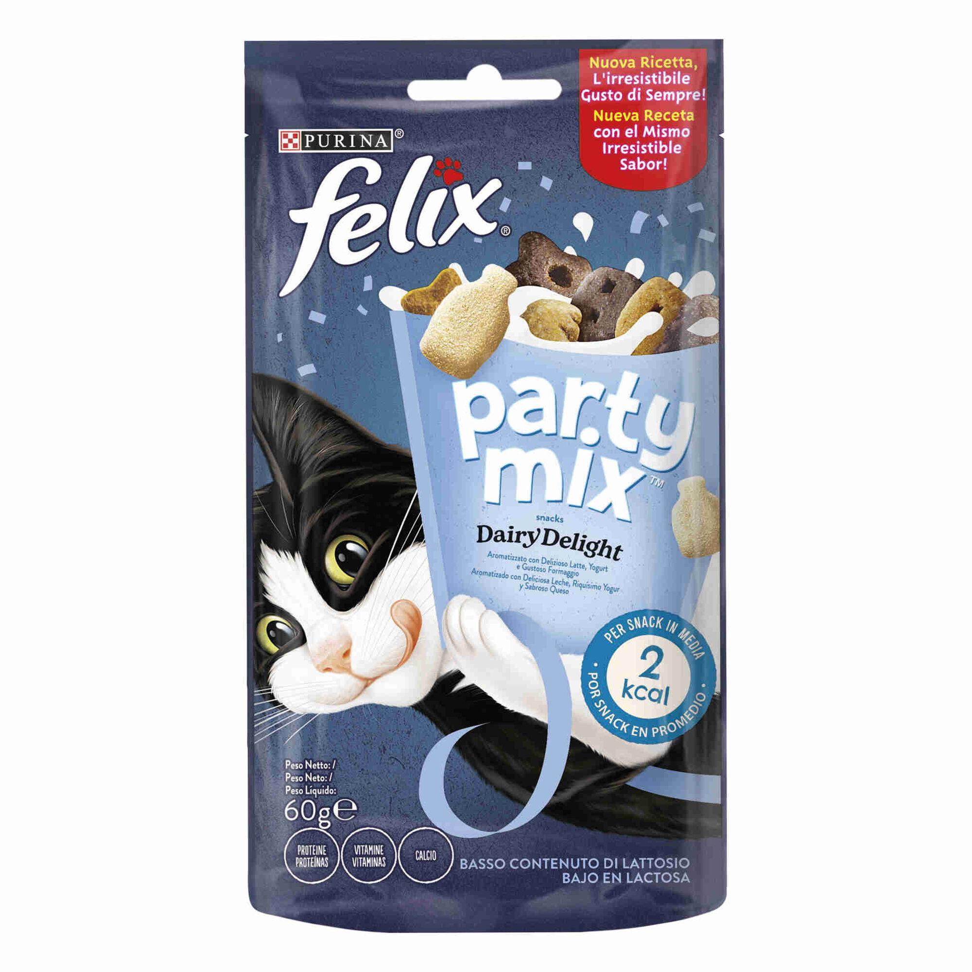 Snack para Gato Adulto Party Dairy Delight