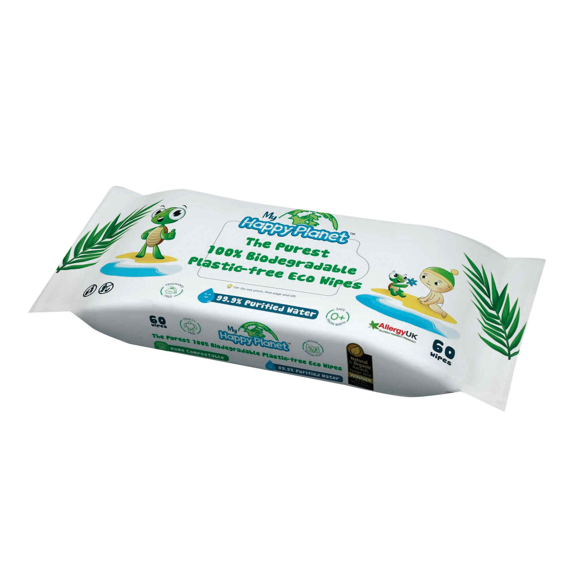 Toalhitas Biodegradáveis