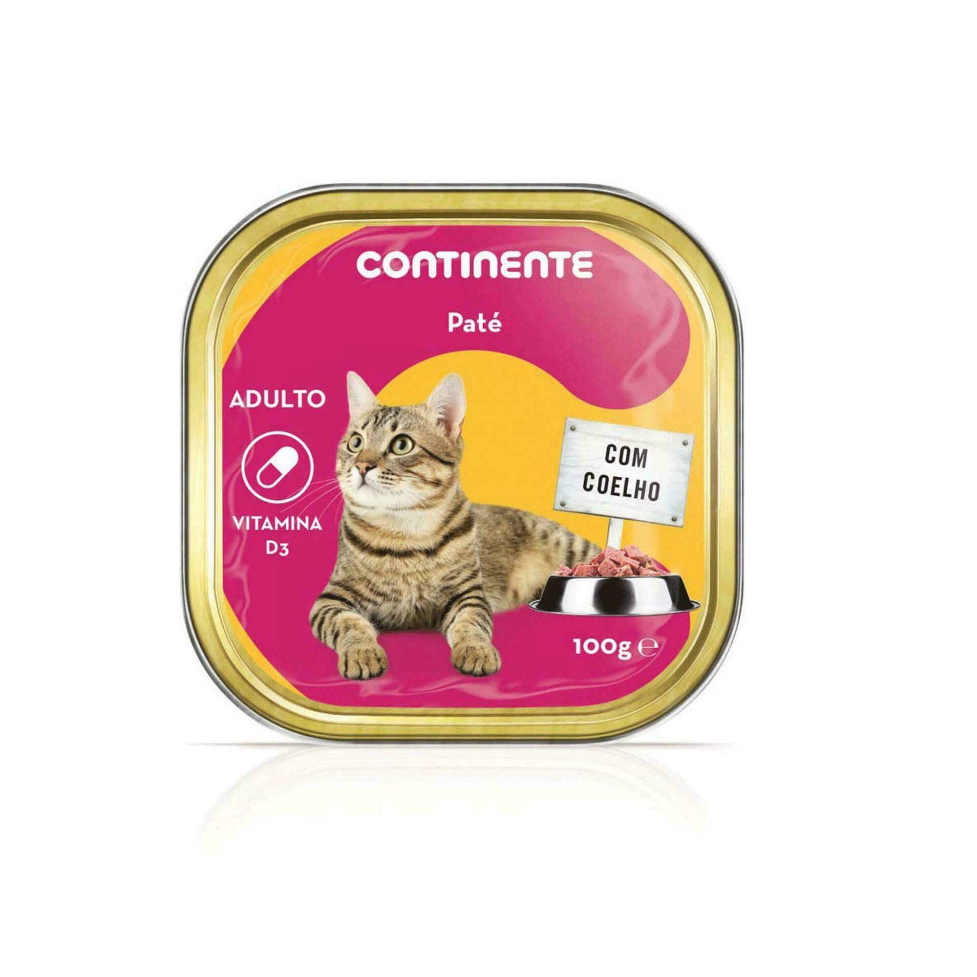 Comida Húmida para Gato Adulto Patê Coelho Terrina