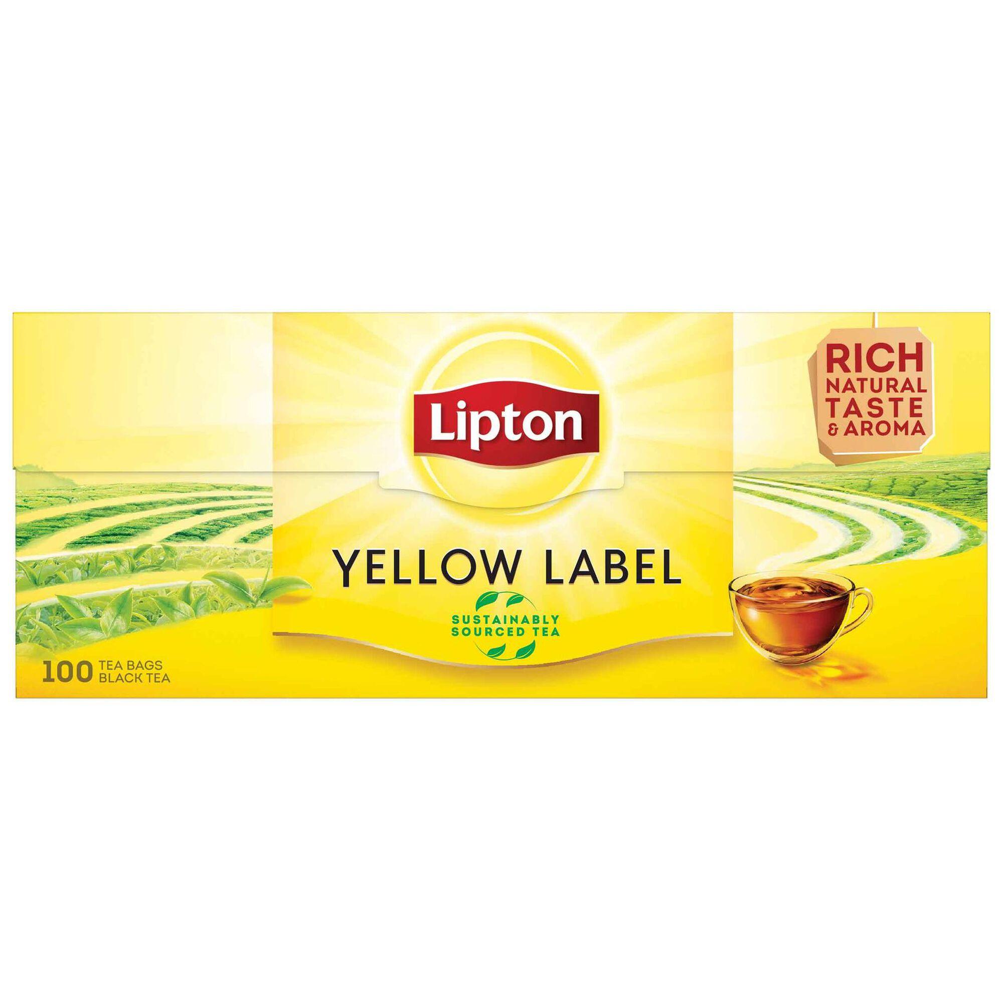 Chá Preto Yellow Label Saquetas