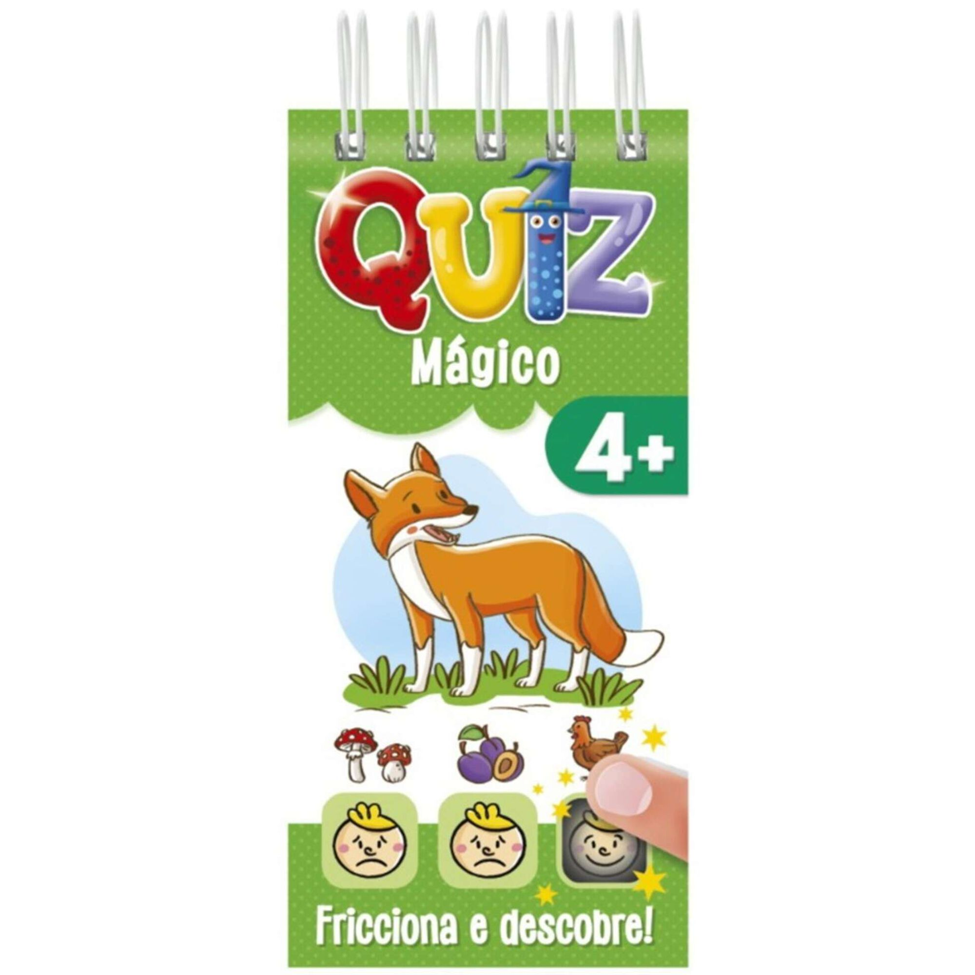 Quiz Mágico 4+