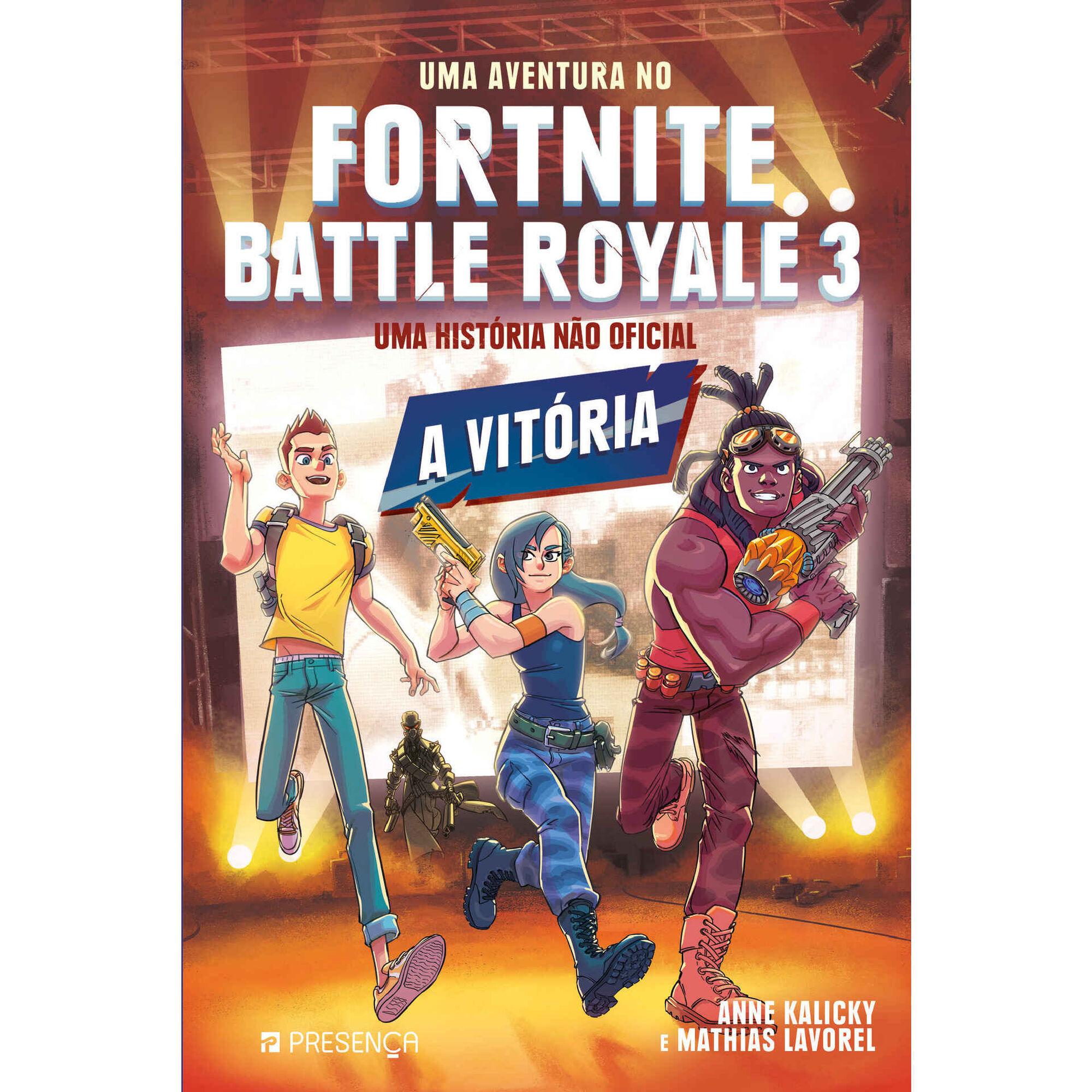 Uma Aventura no Fortnite Battle Royale Nº 3 - A Vitória