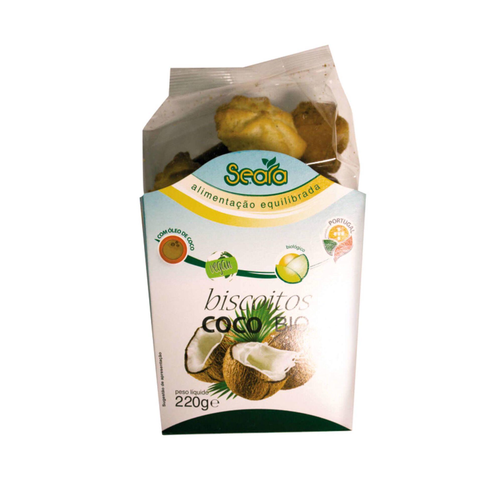 Biscoitos Coco Biológicos