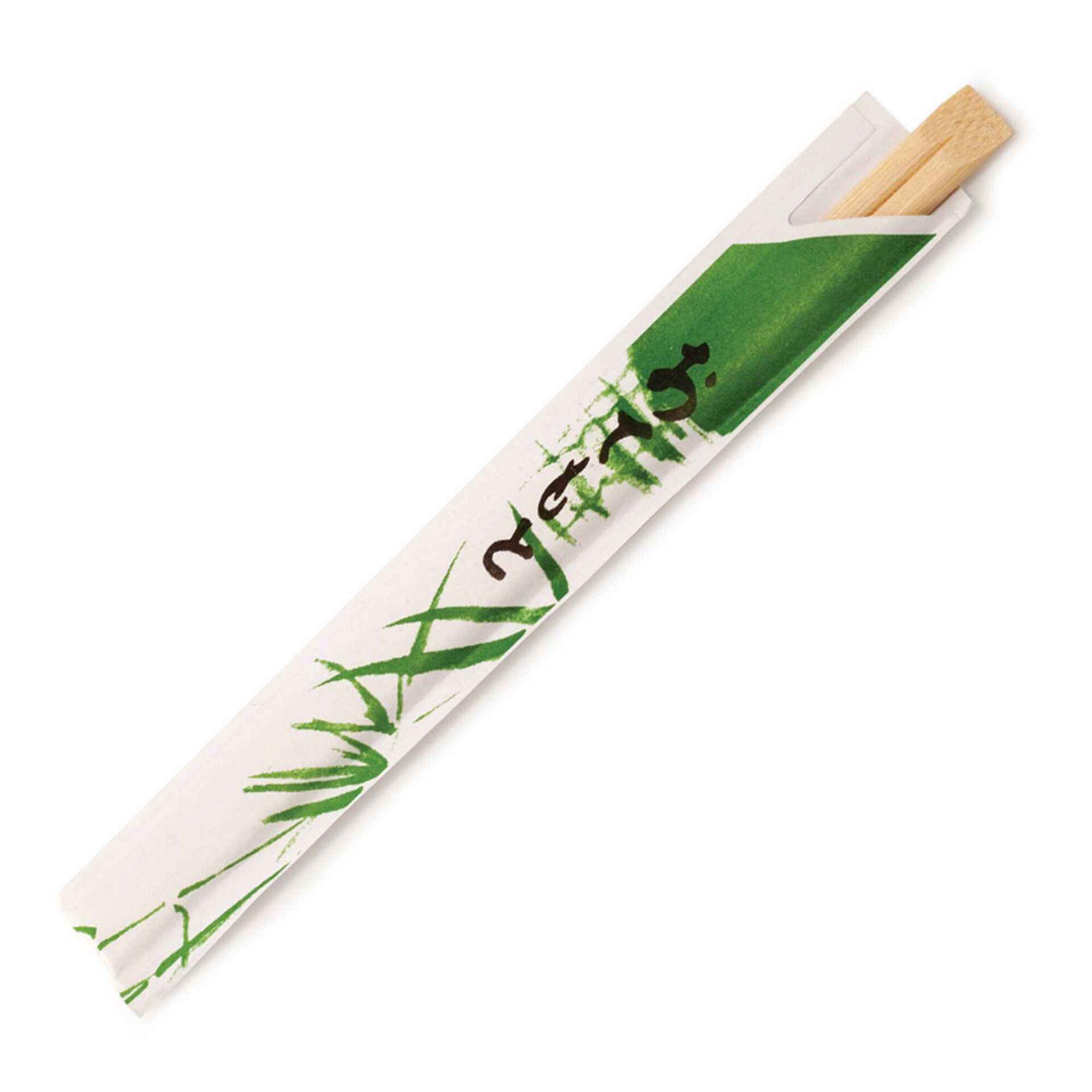Chopsticks Bambu Individuais Natural