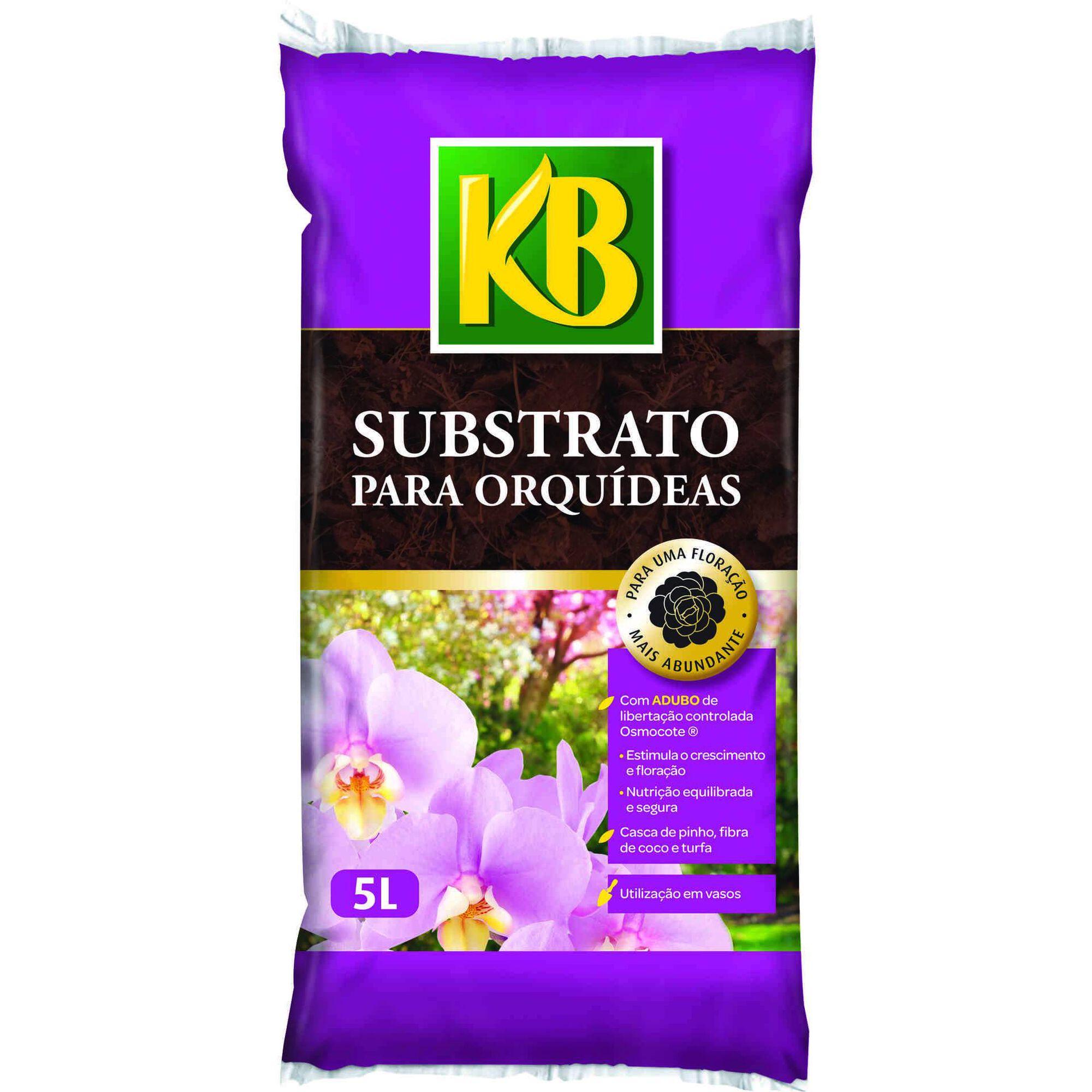Substrato Especial Orquídeas 5L