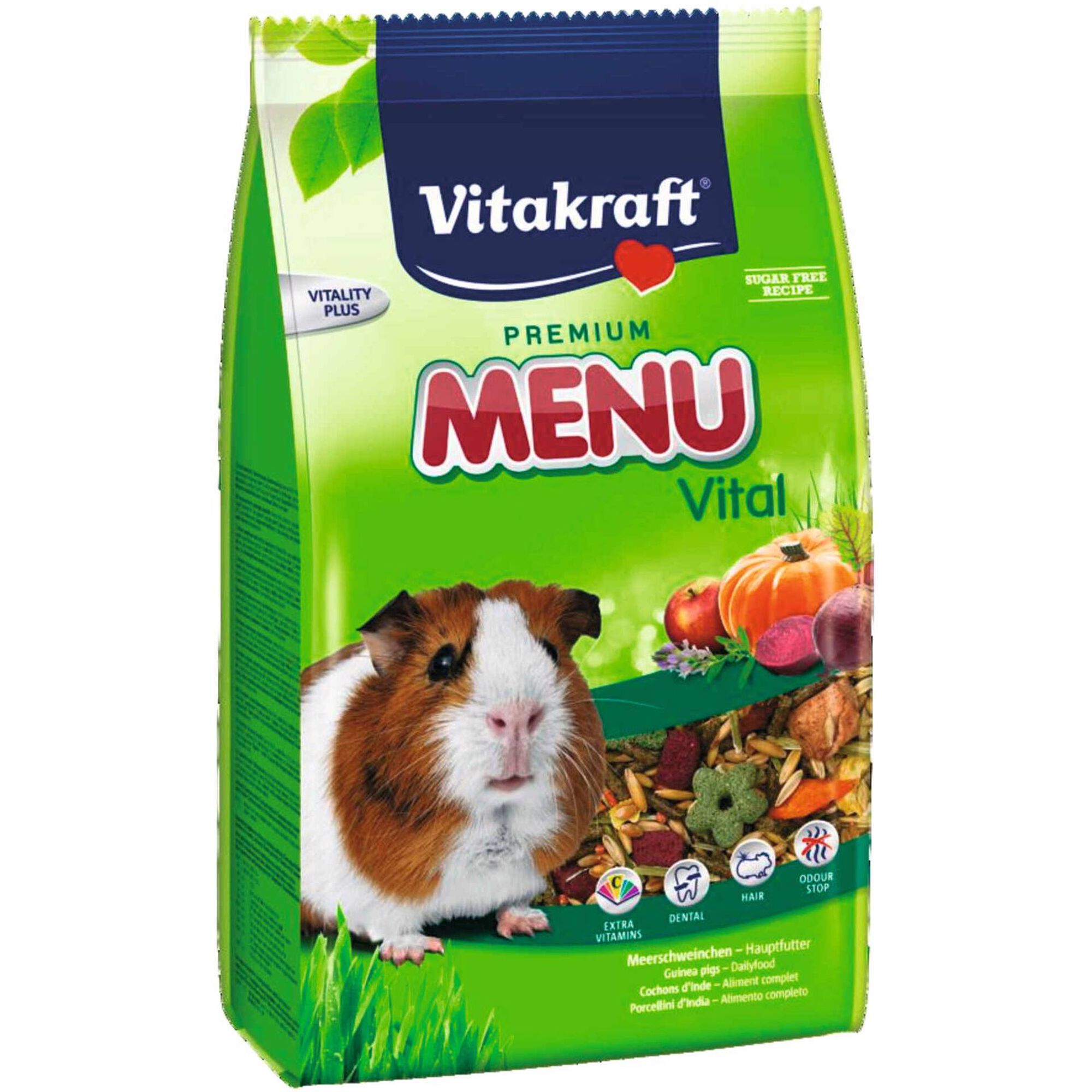 Comida para Porquinho da Índia Menu Premium