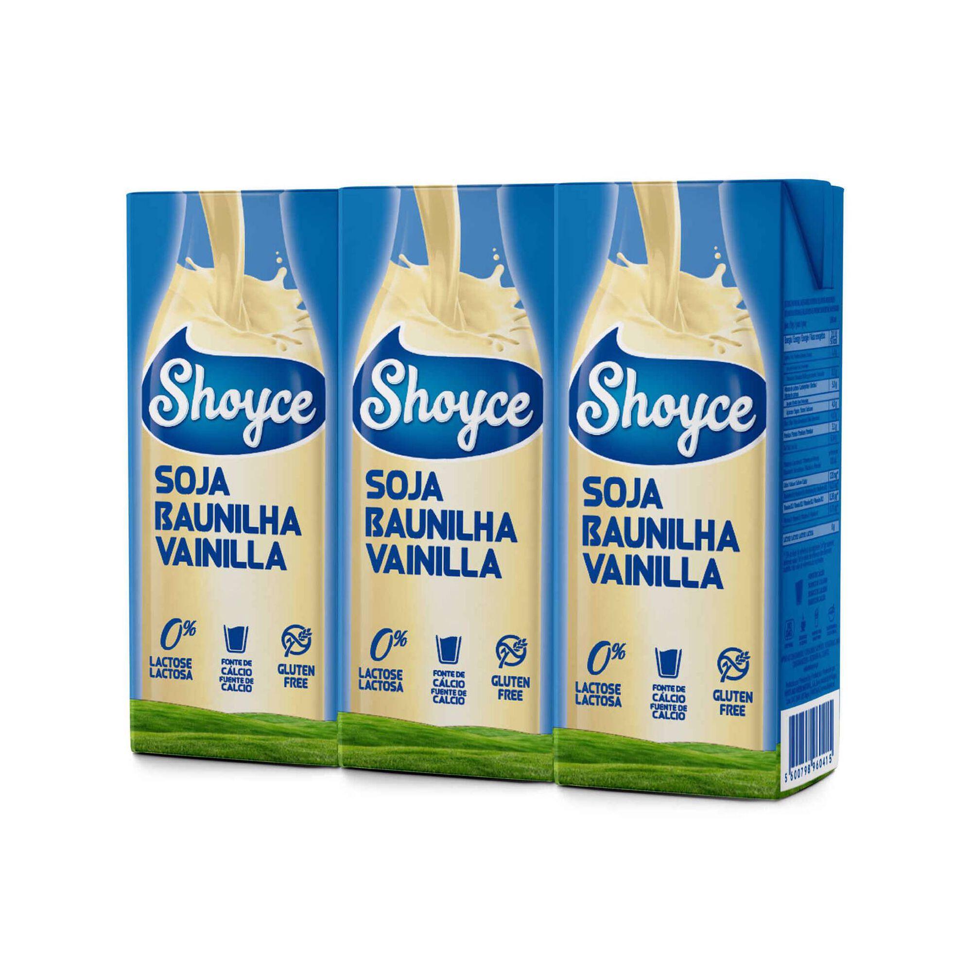 Bebida Vegetal de Soja Baunilha sem Lactose