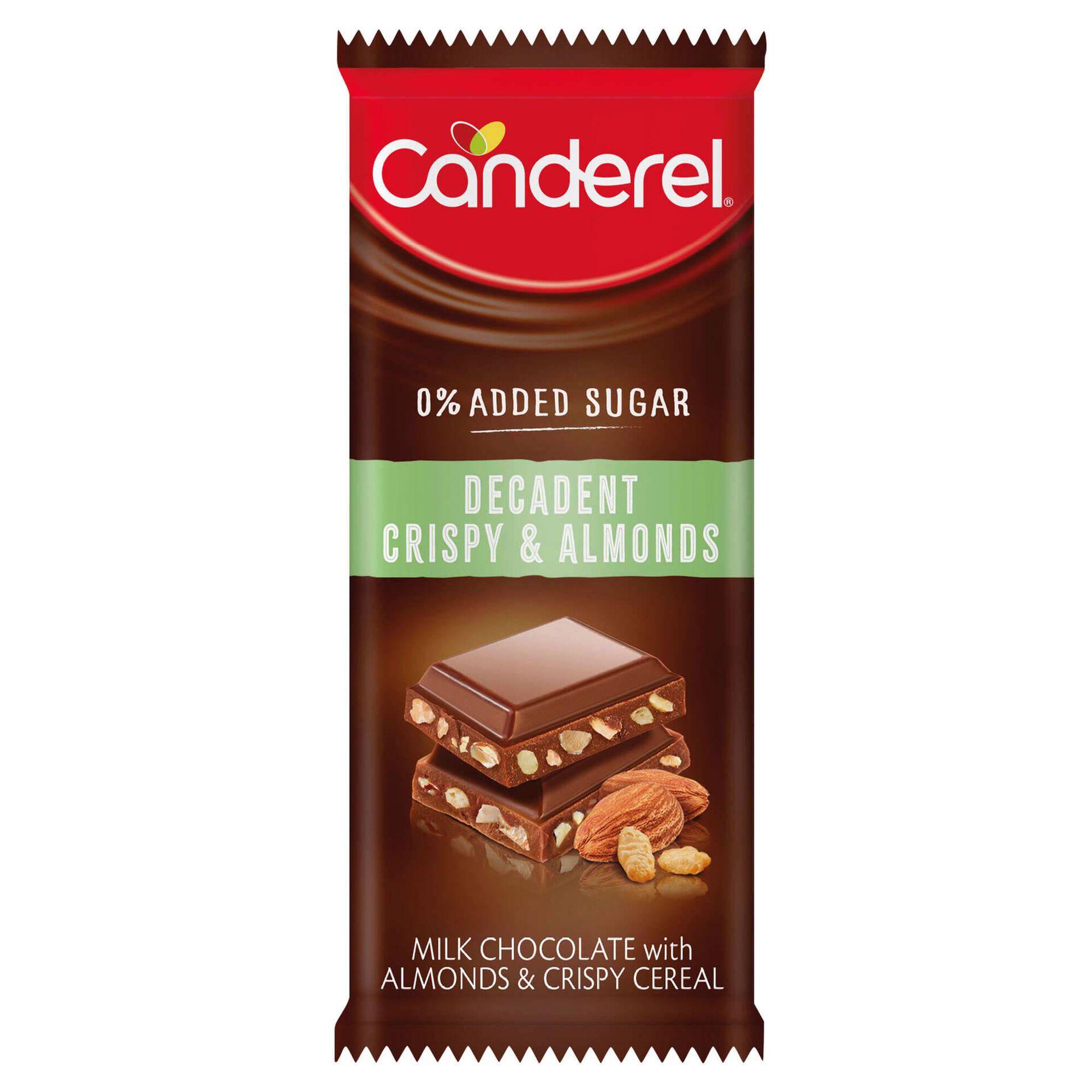 Tablete de Chocolate com Cereais e Amêndoas
