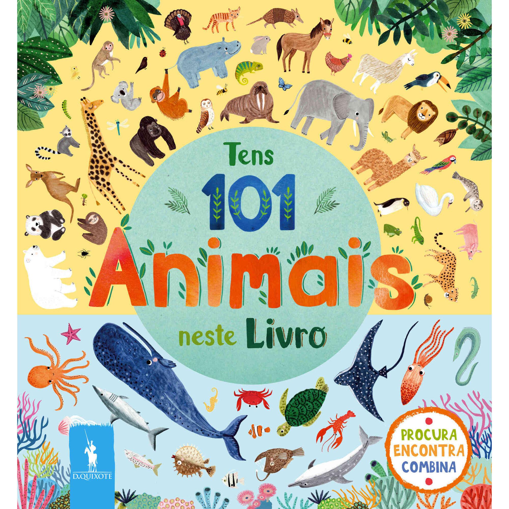 Tens 101 Animais Neste Livro
