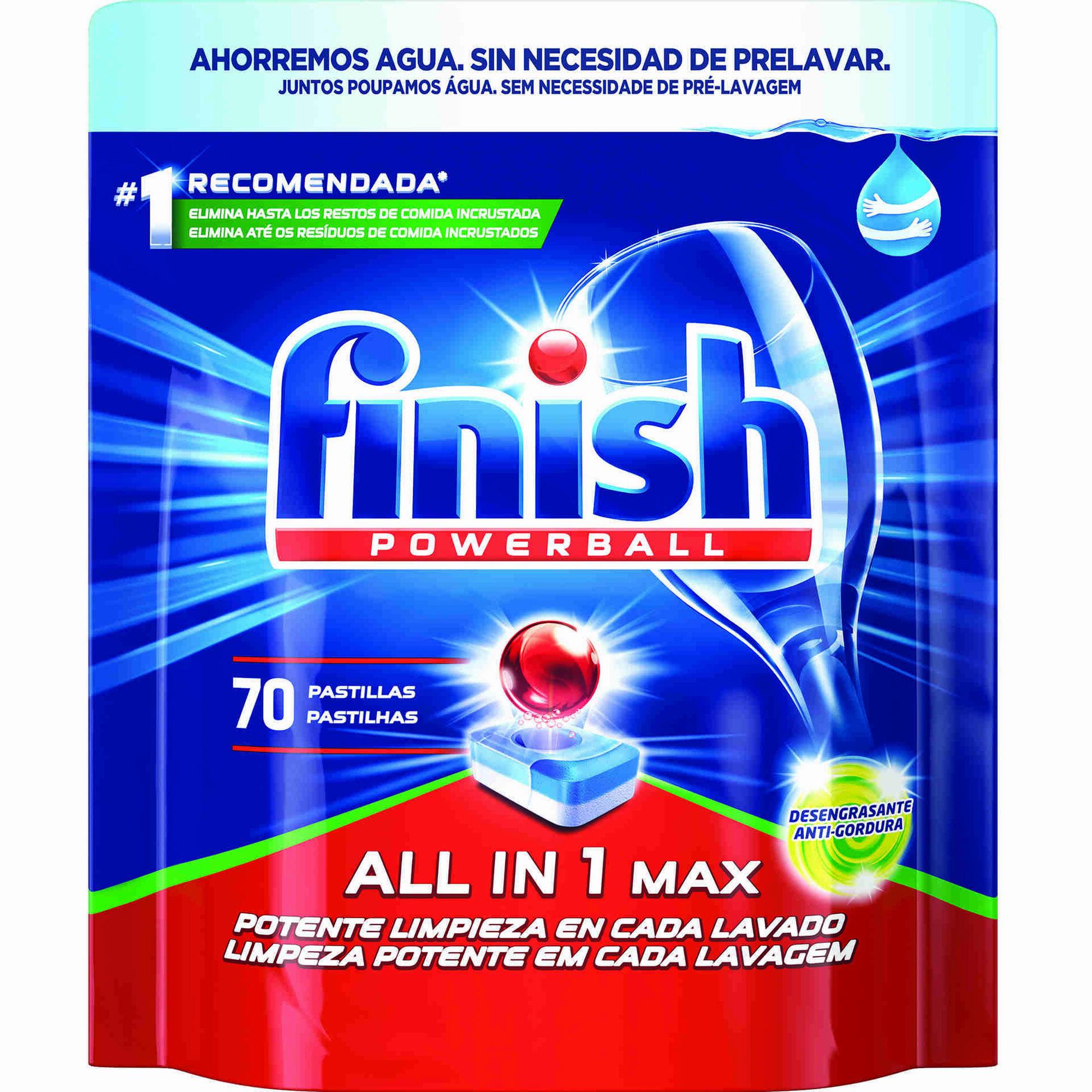 Detergente Máquina Loiça Pastilhas All in 1 Antigordura