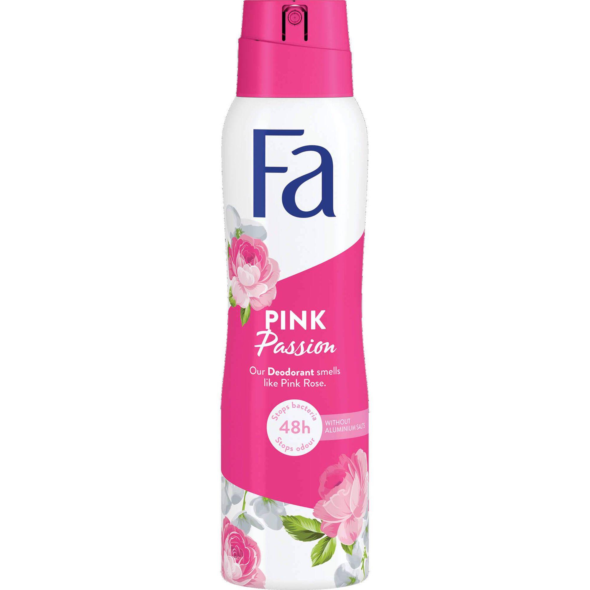 Desodorizante Spray Pink Passion