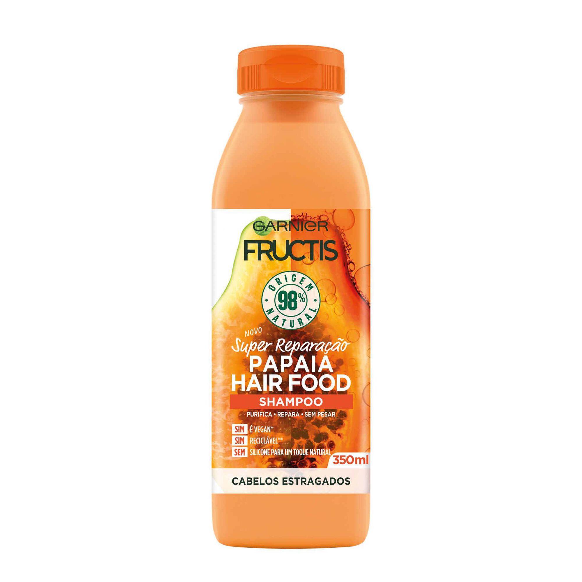 Champô Fructis Hair Food Papaia