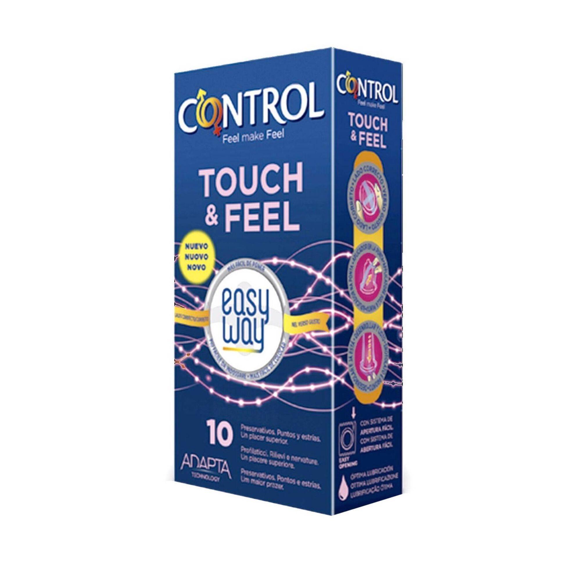 Preservativos Sensual Dots & Lines Easy Way