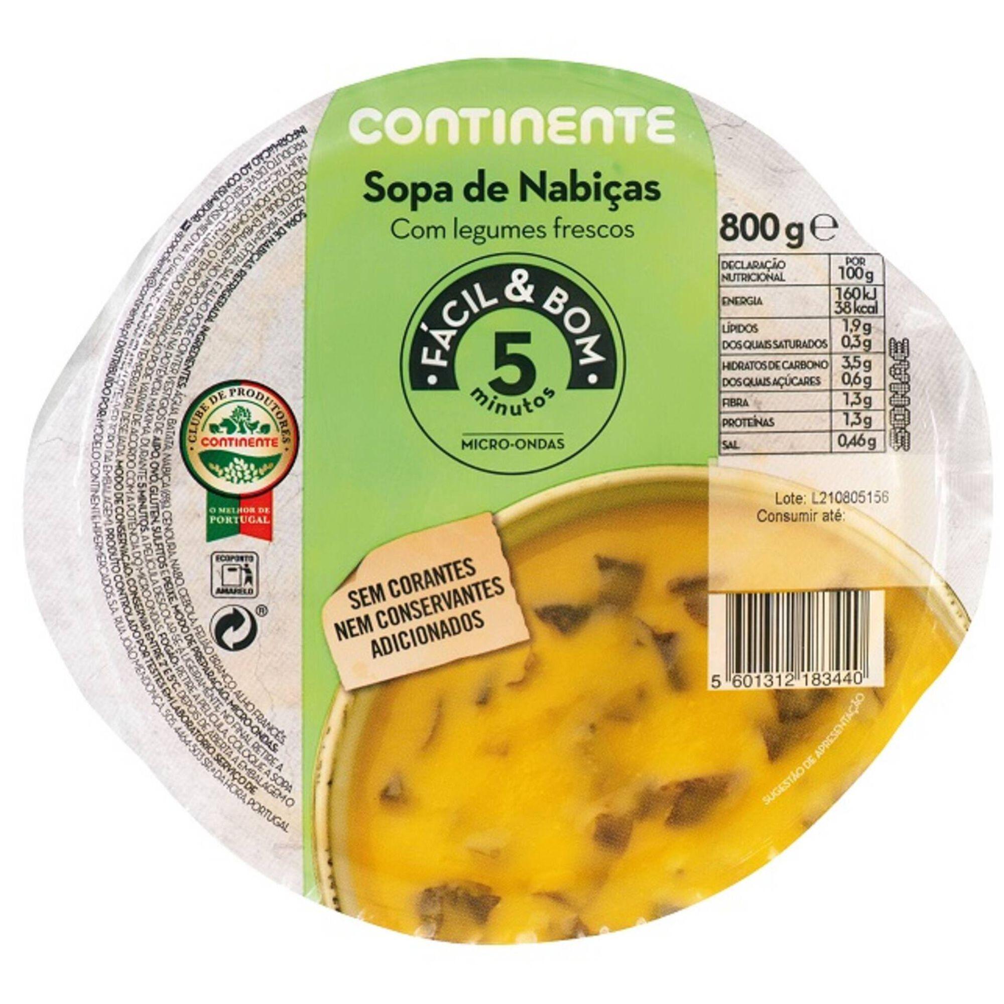 Sopa de Nabiças