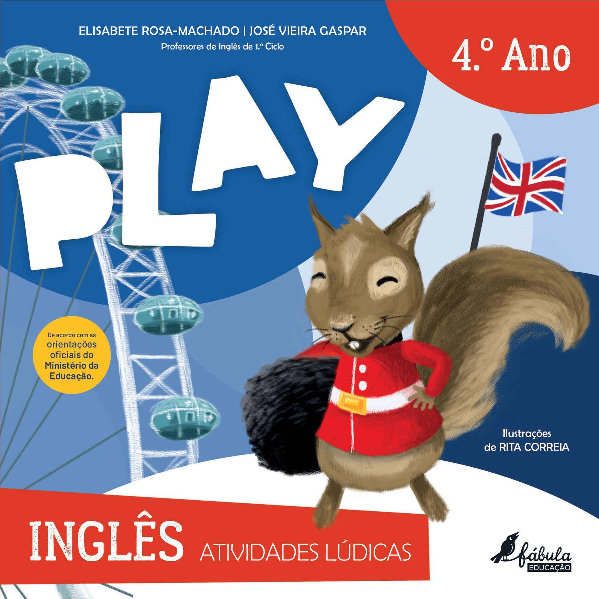 Play - Atividades Lúdicas - Inglês - 4º Ano