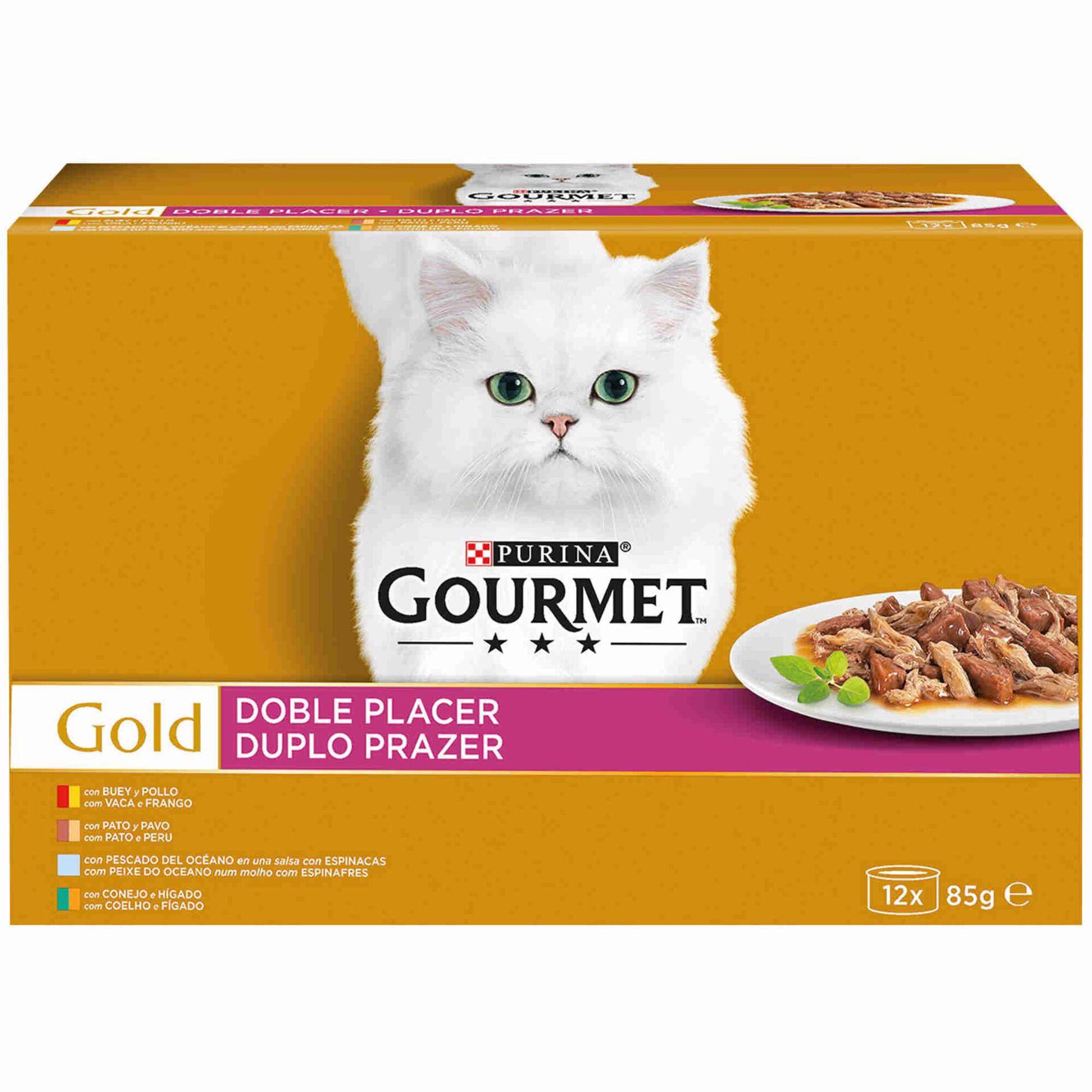 Comida Húmida para Gato Seleção Duplo Prazer Multipack