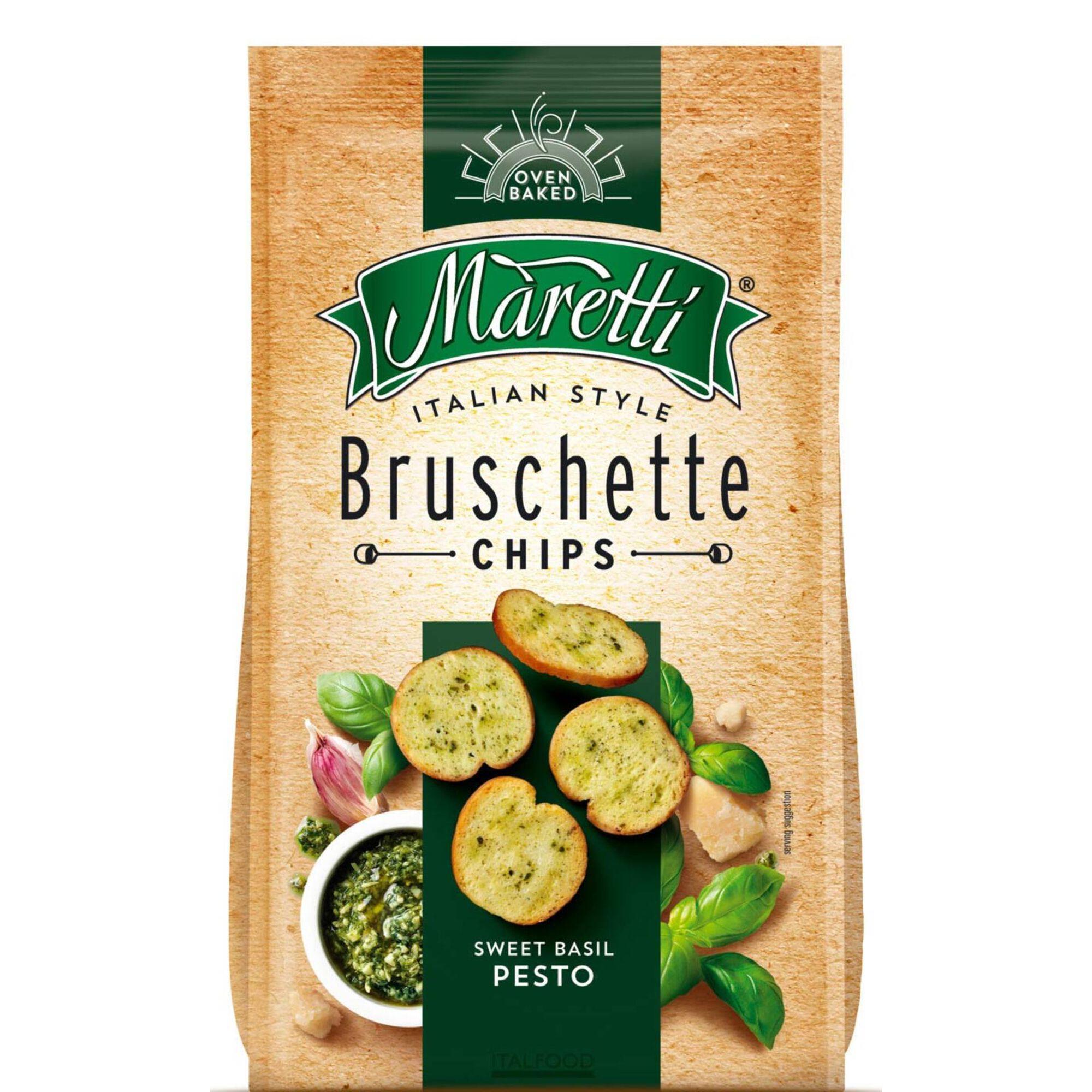 Bruschetta Pesto de Manjericão