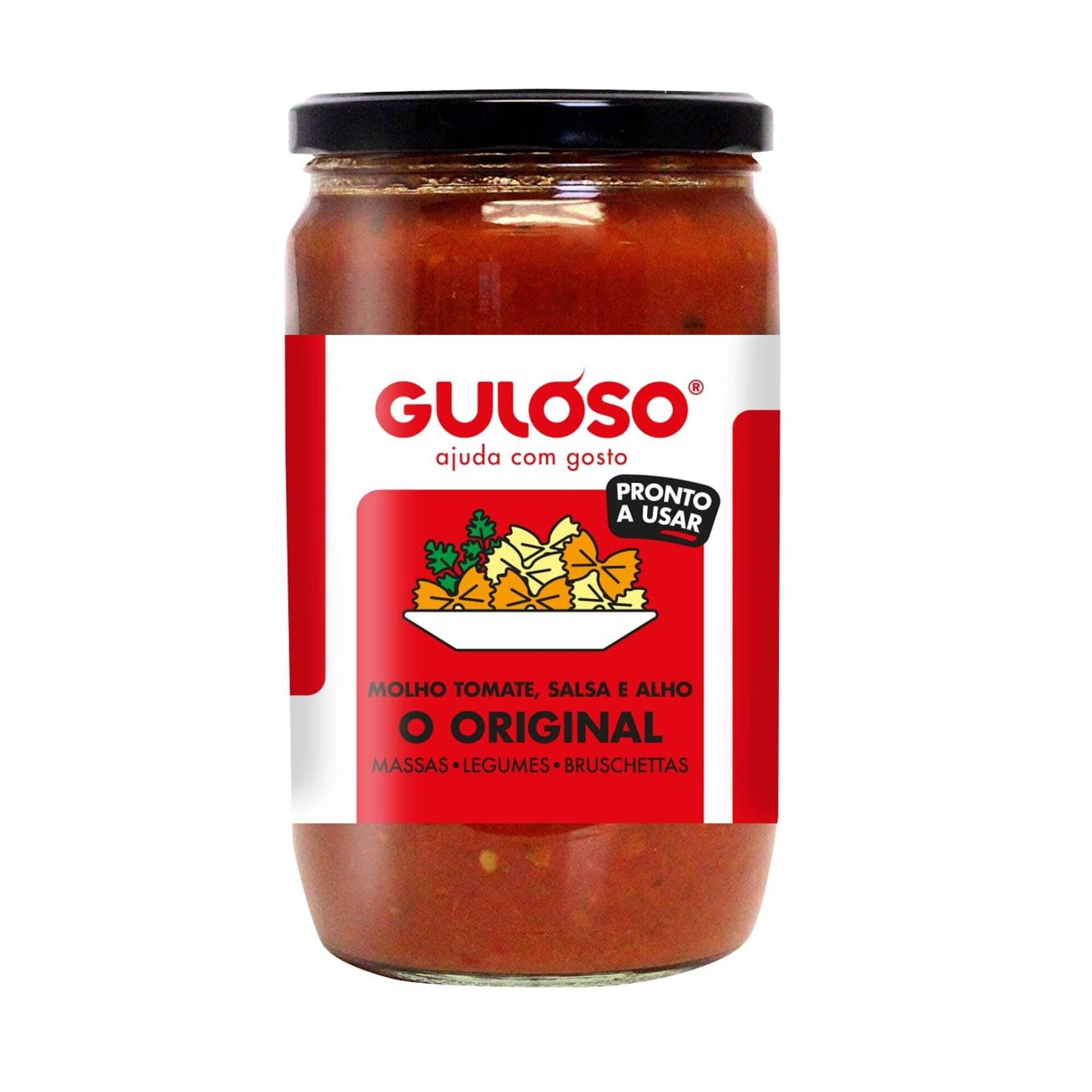 Molho de Tomate, Salsa e Alho Original