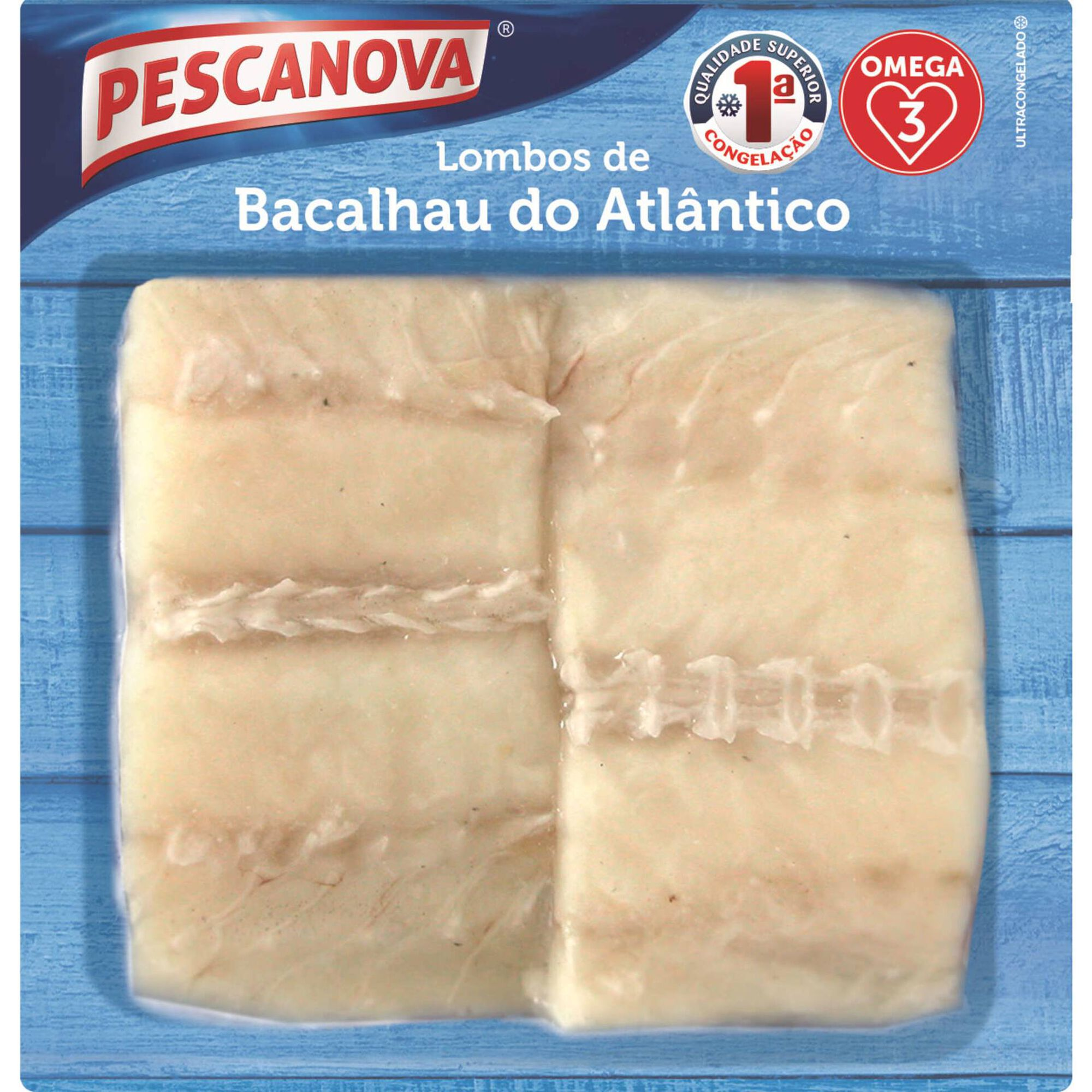 Lombos de Bacalhau do Atlântico Ultracongelados
