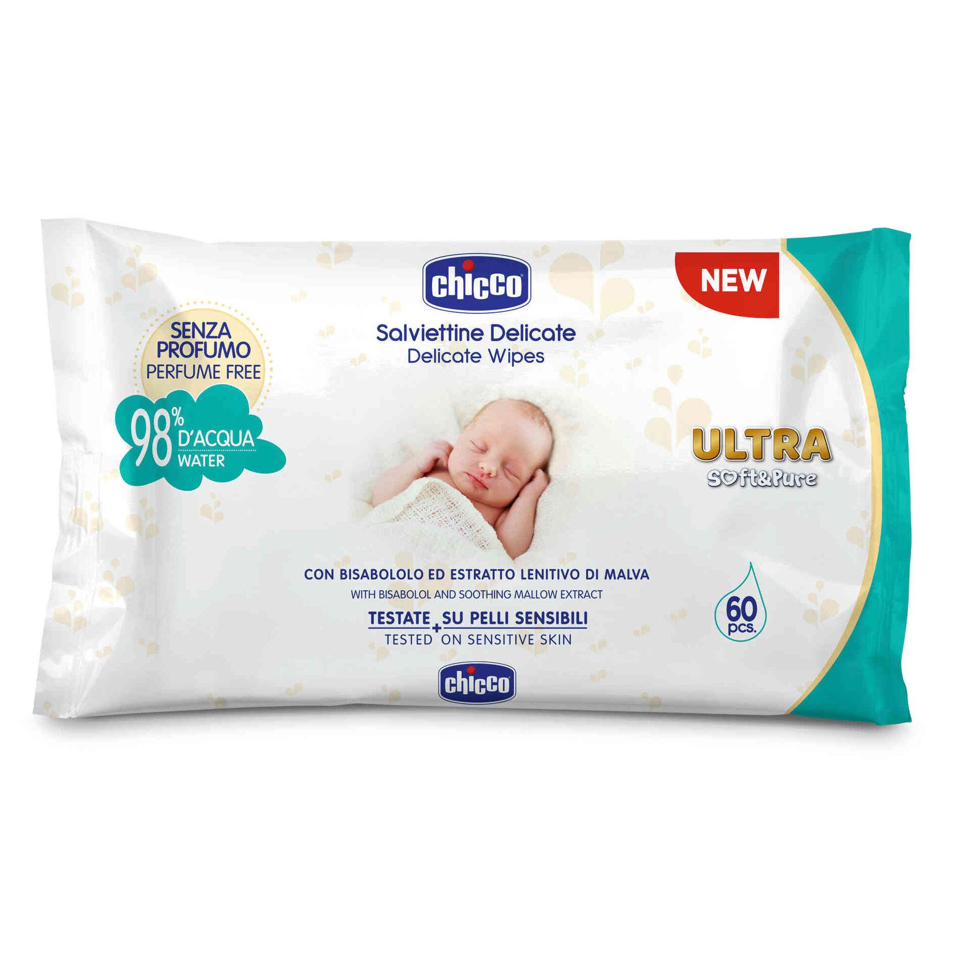 Toalhitas Bebé Ultra Soft&Pure