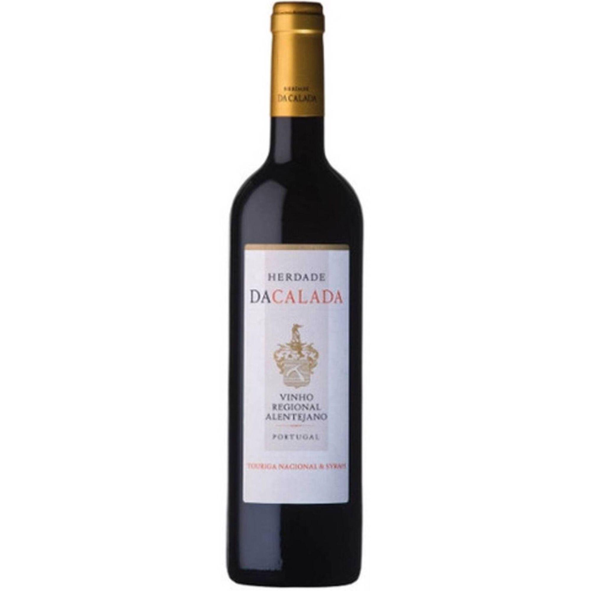 Herdade da Calada Touriga Nacional e Syrah Regional Alentejano Vinho Tinto