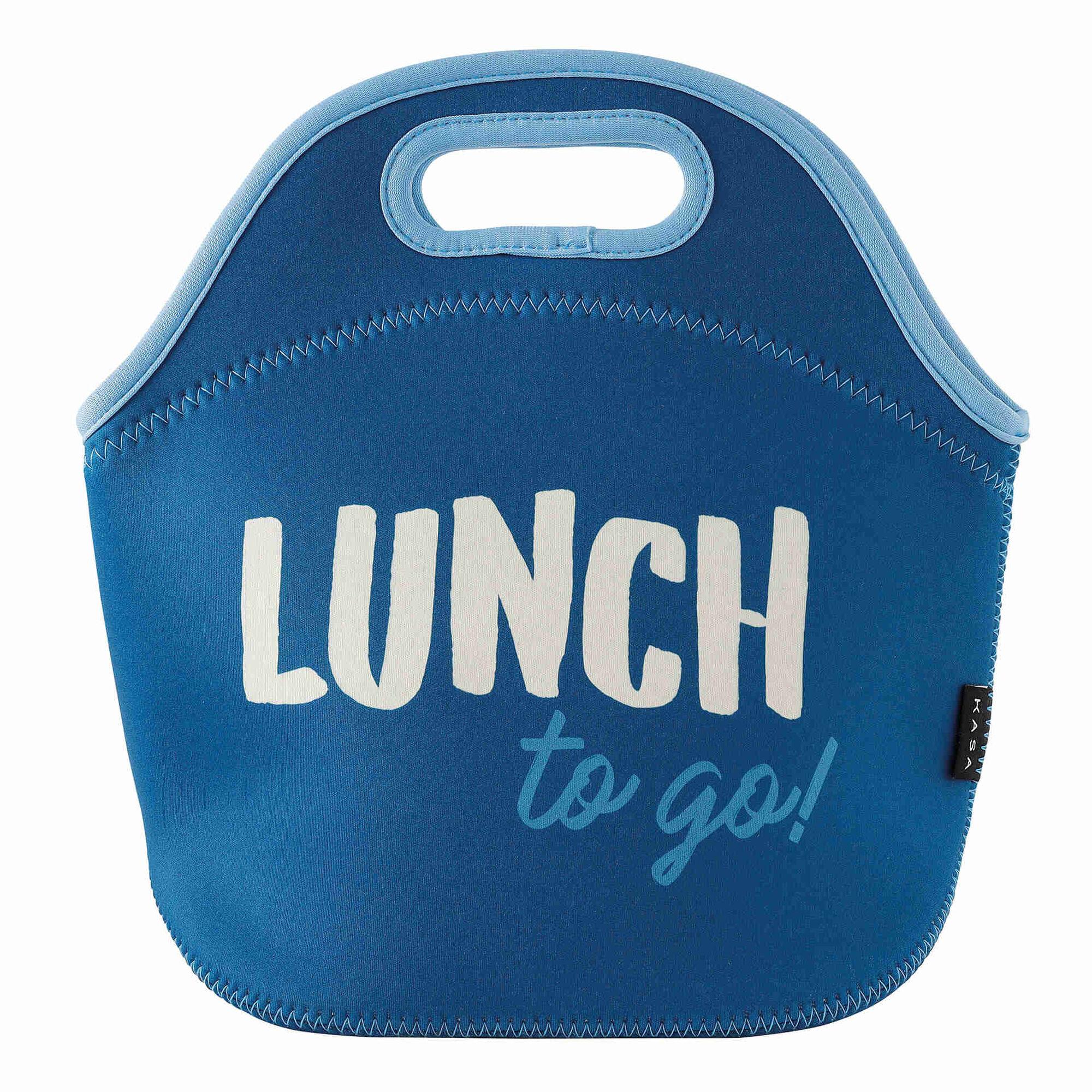 Saco Neoprene Azul 4 My Lunch