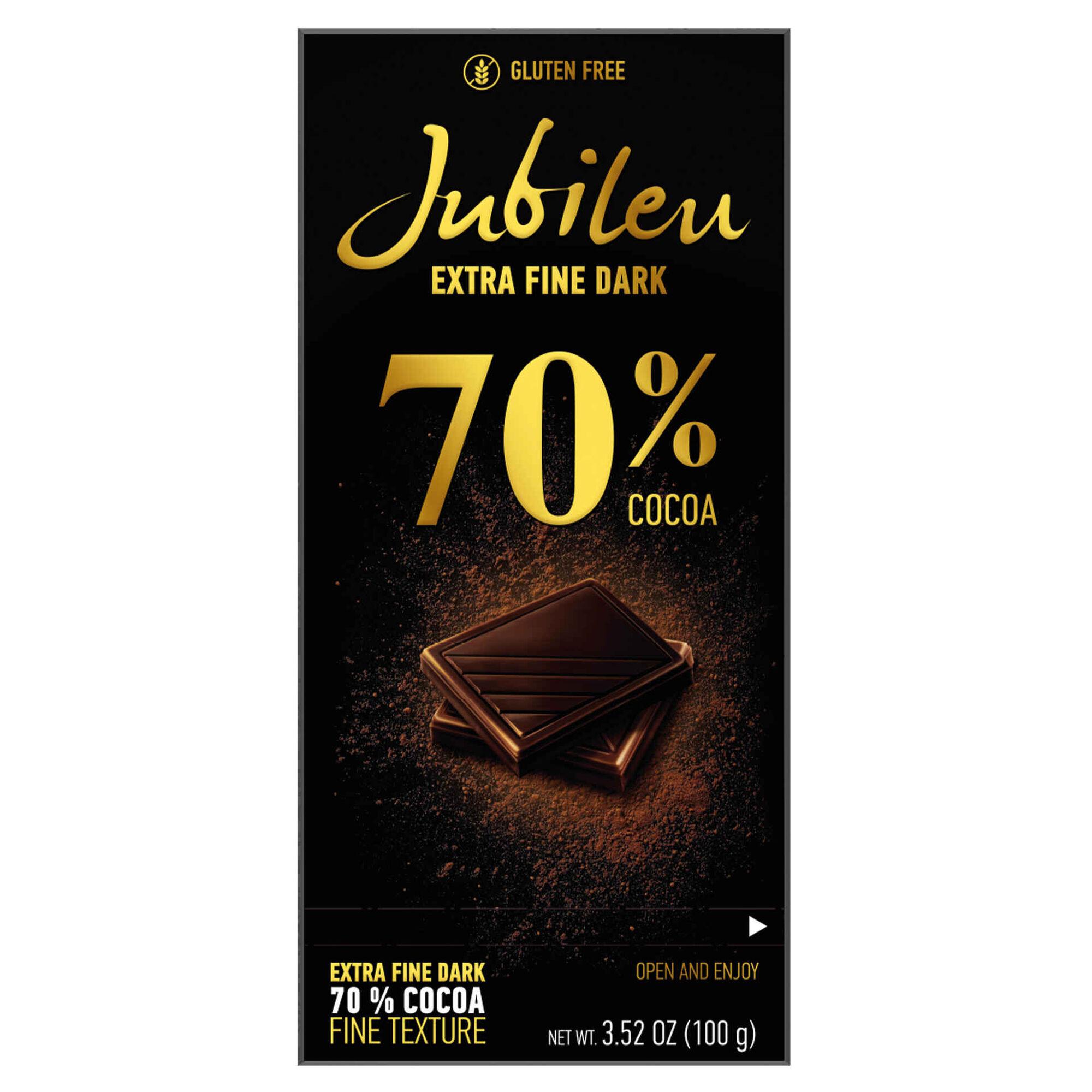 Tablete de Chocolate Extra Noir 70% Cacau
