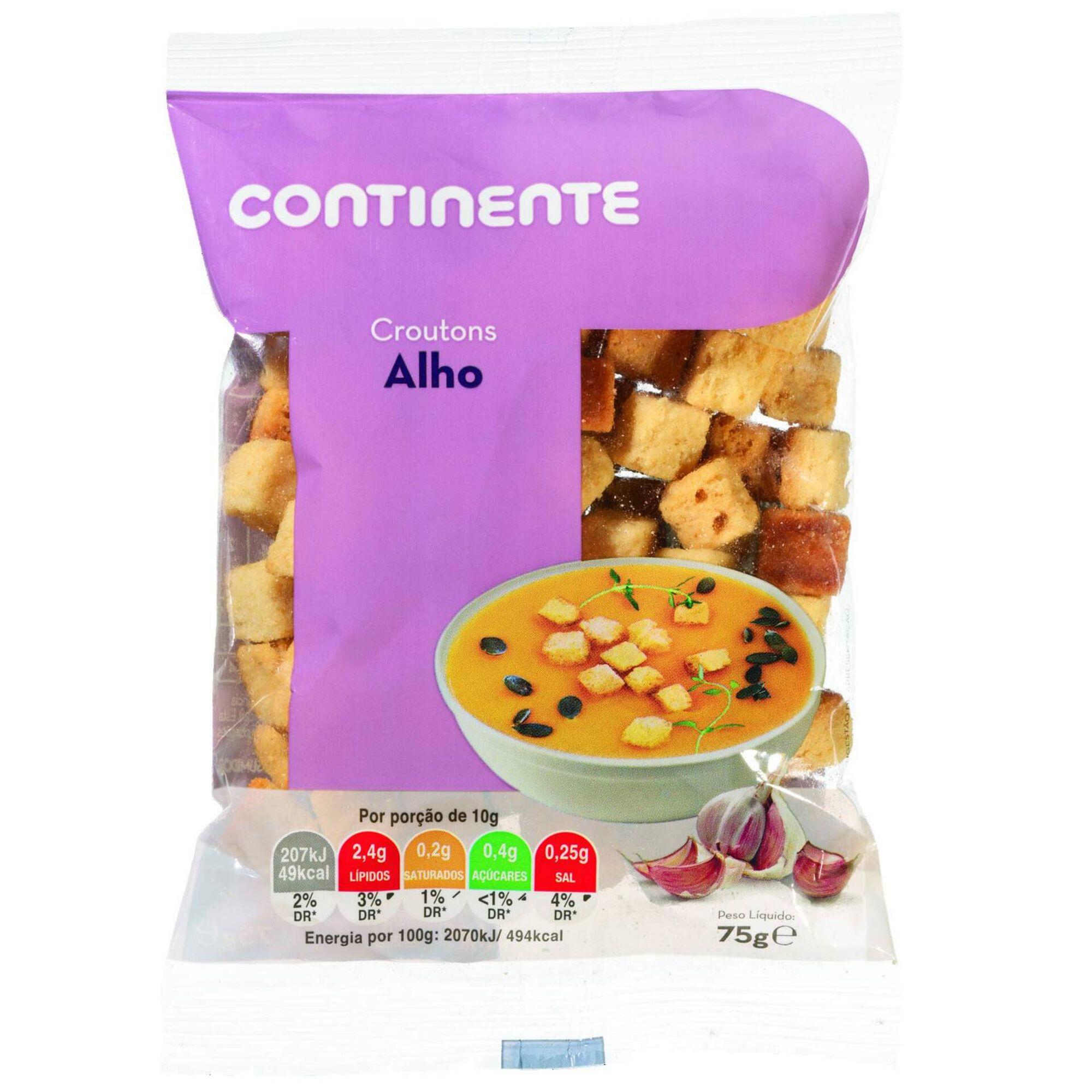 Croutons com Alho