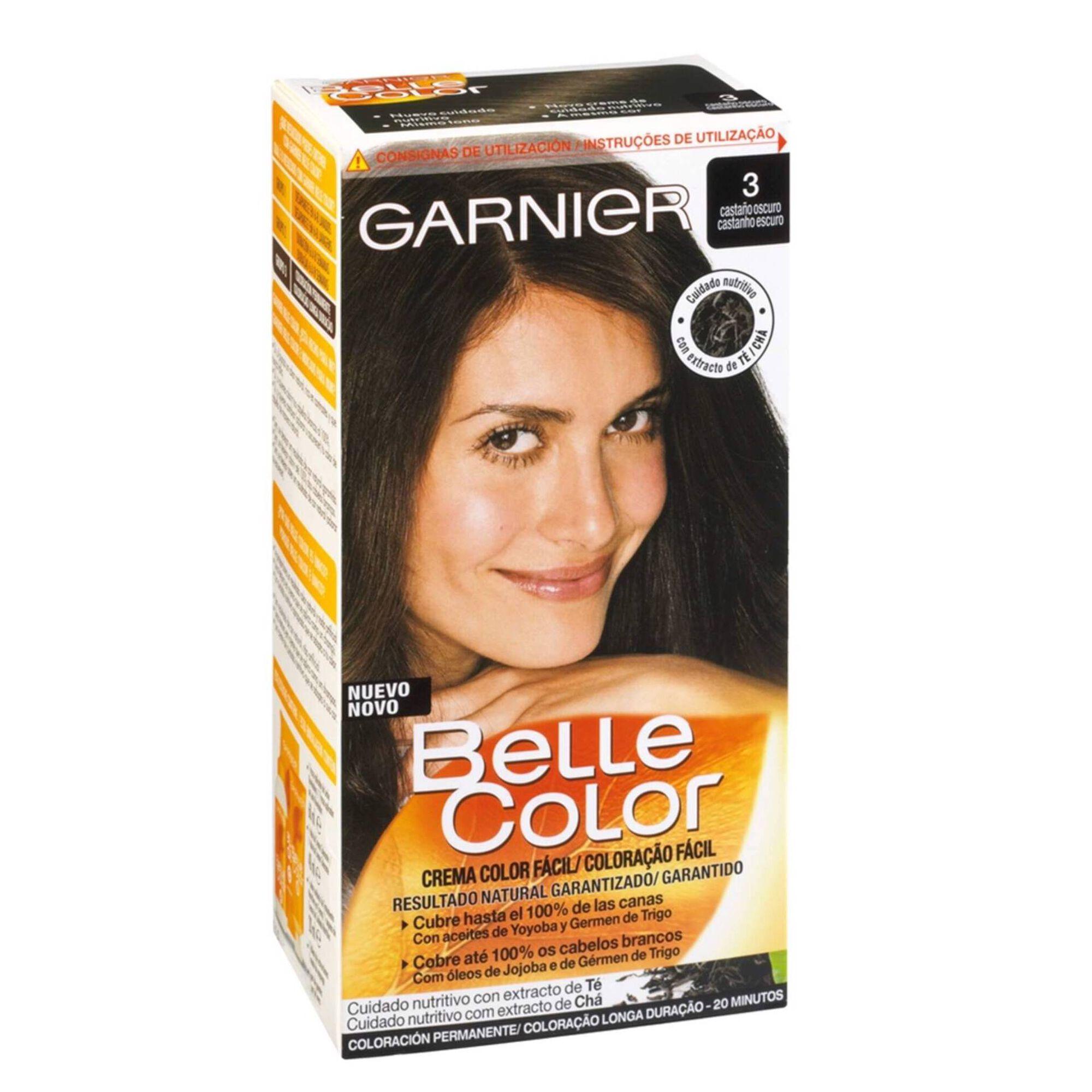 Coloração Permanente Belle Color Castanho Escuro 3.0