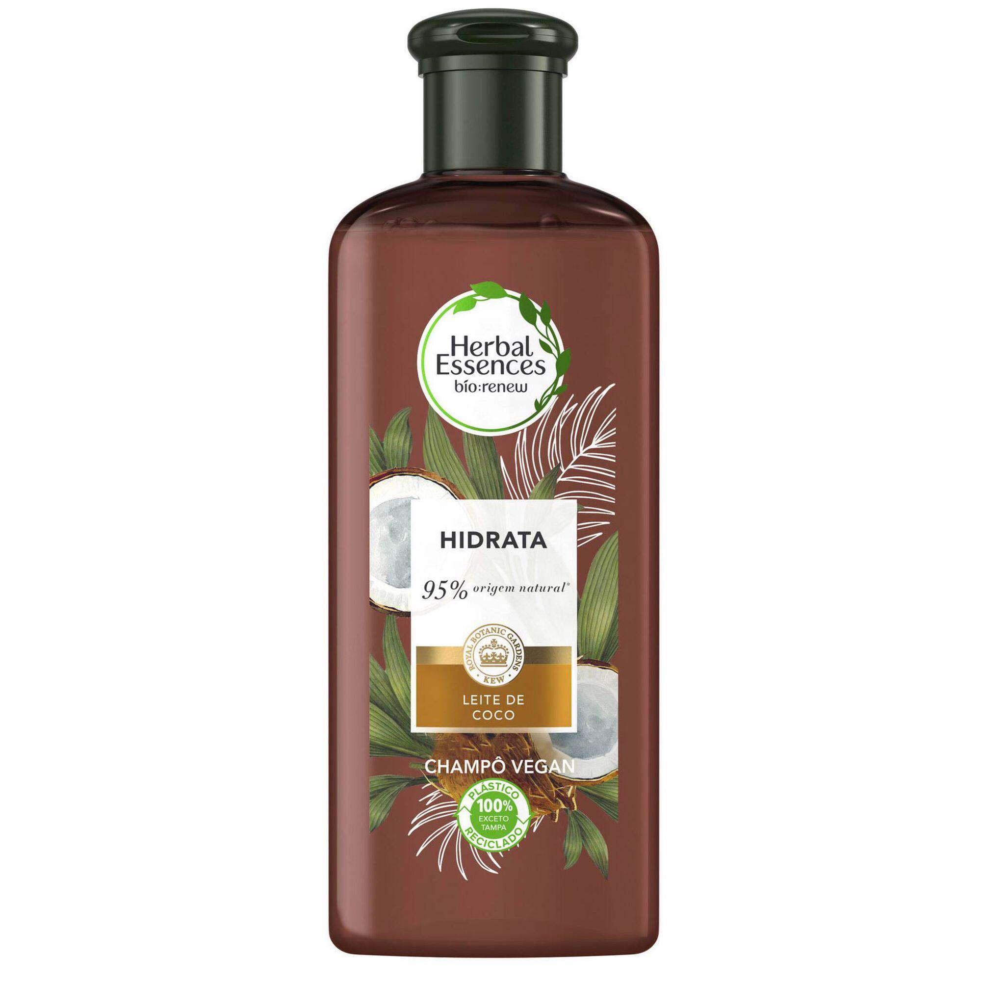 Champô Hidratação Leite de Coco