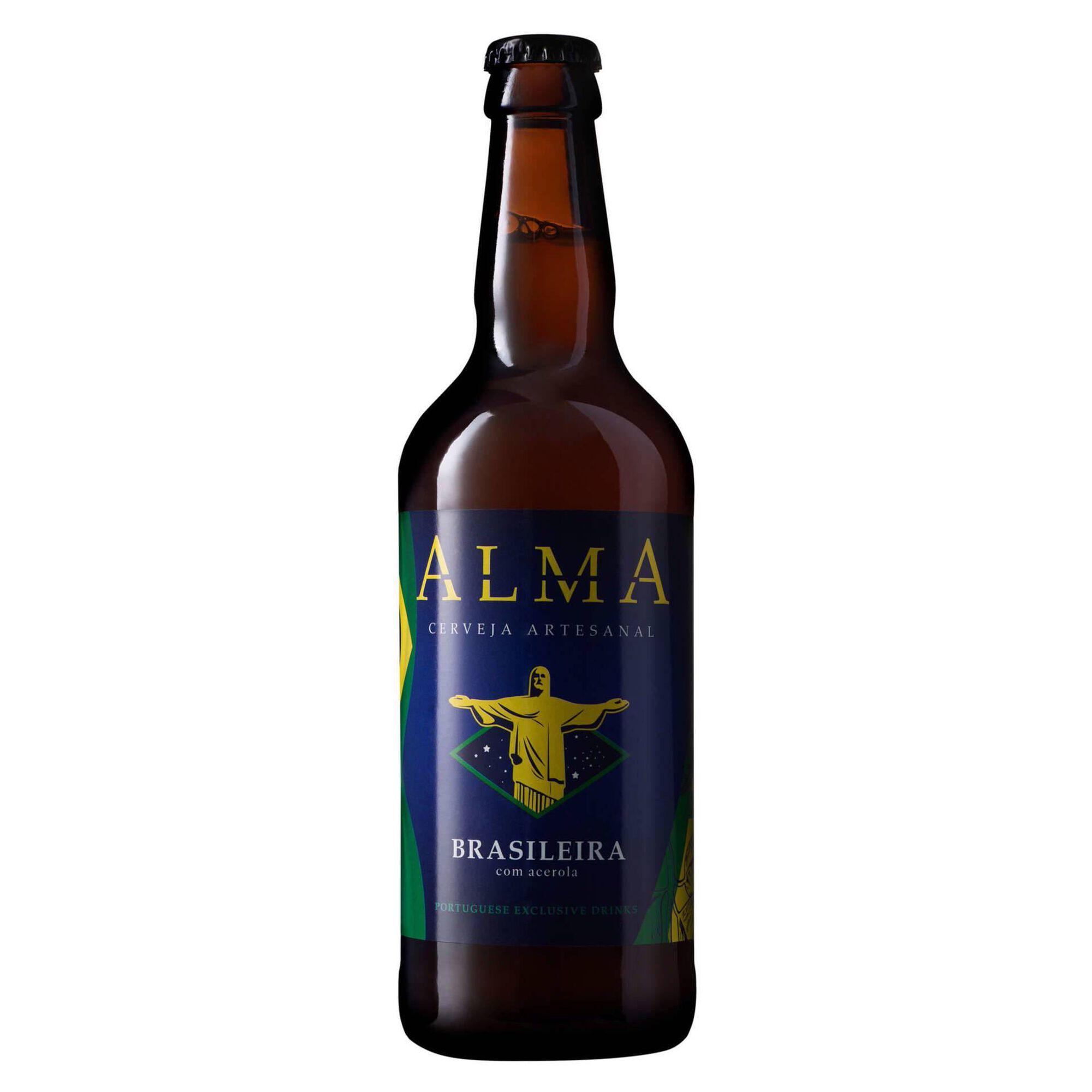 Cerveja com Álcool Alma Brasileira Garrafa