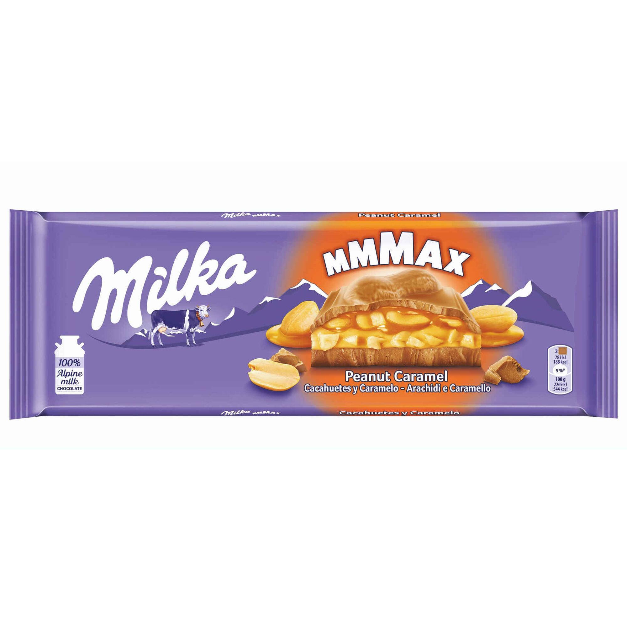 Tablete de Chocolate com Amendoim e Caramelo