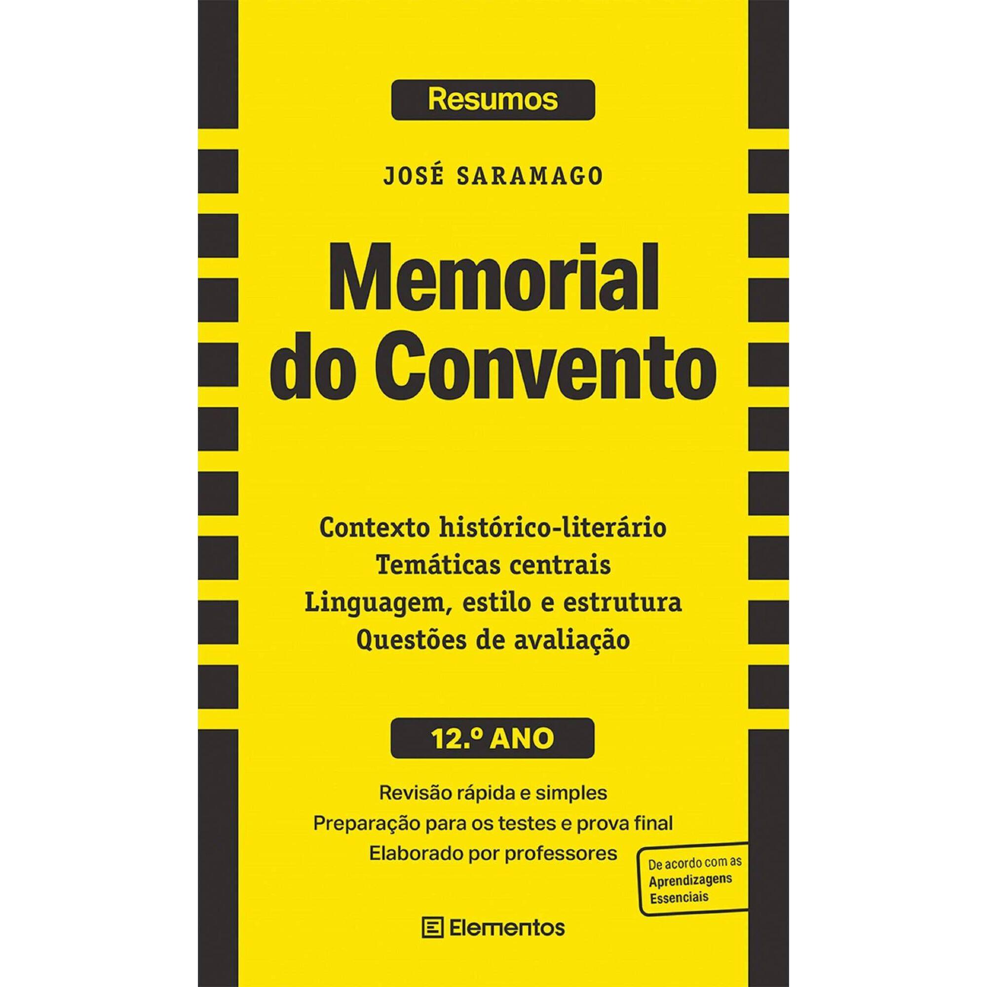 Resumos - Memorial do Convento - 12º Ano